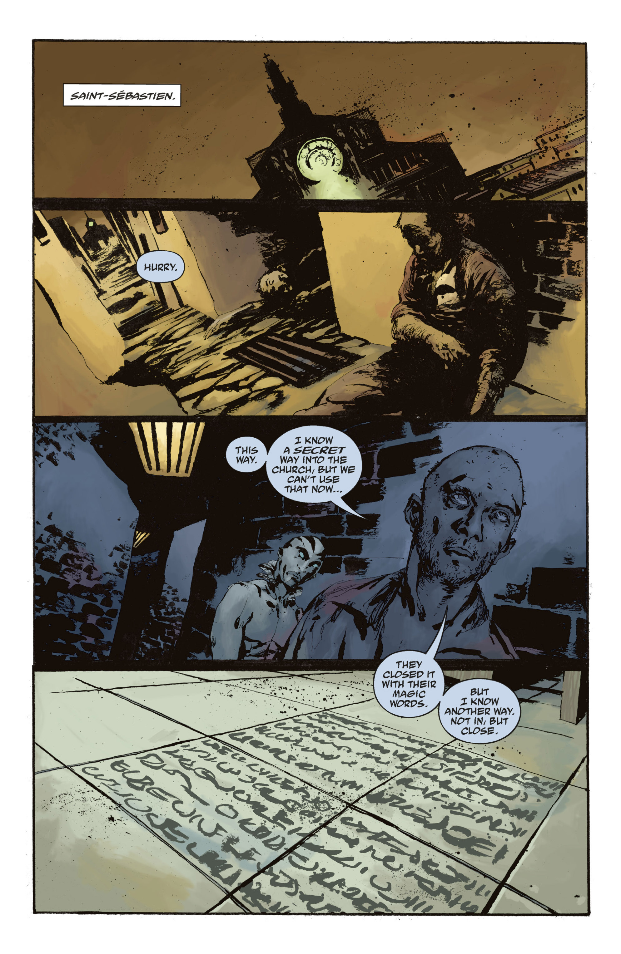 Read online Abe Sapien: The Drowning comic -  Issue #Abe Sapien: The Drowning _TPB - 113