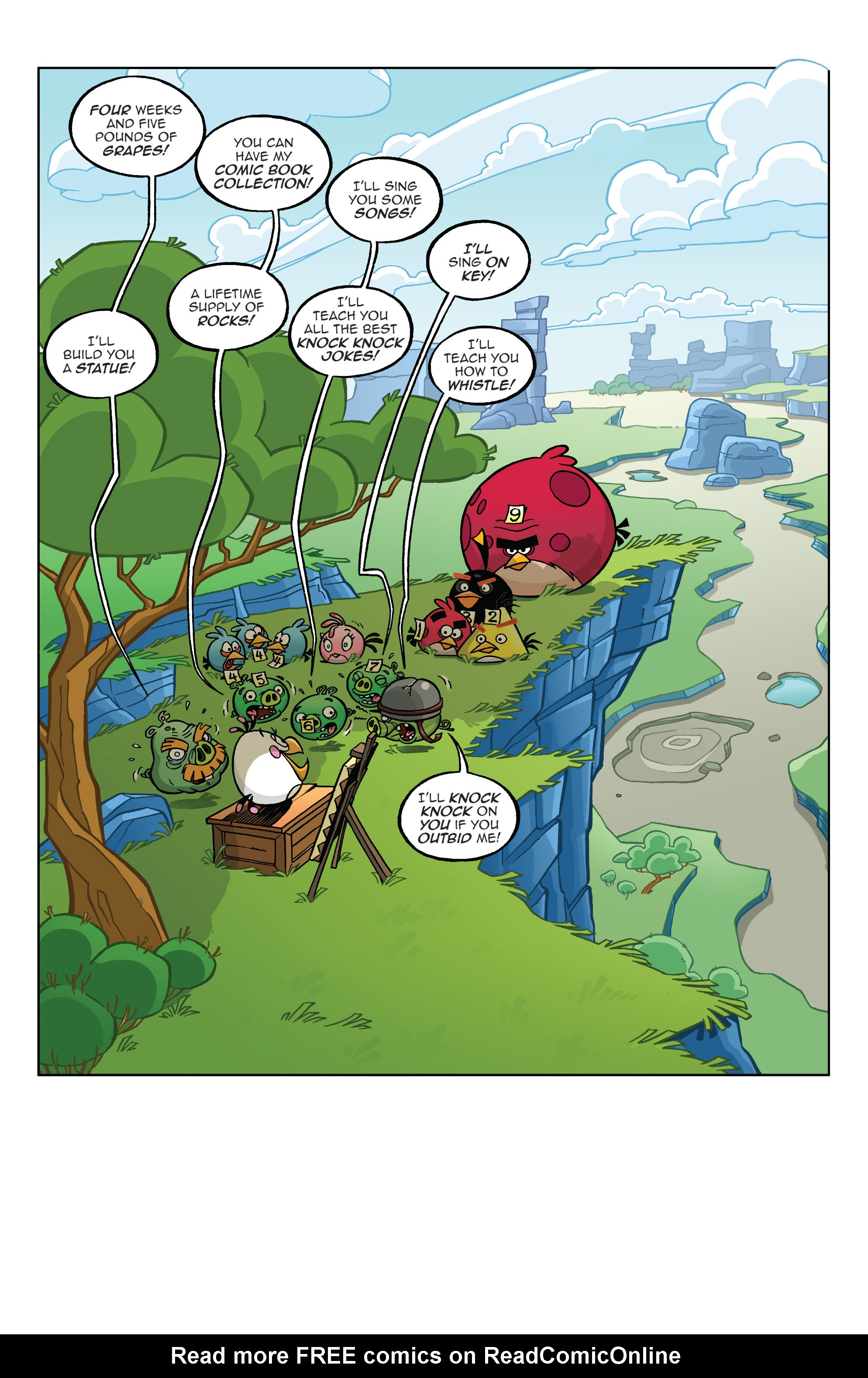 Read online Angry Birds Comics (2014) comic -  Issue #4 - 19