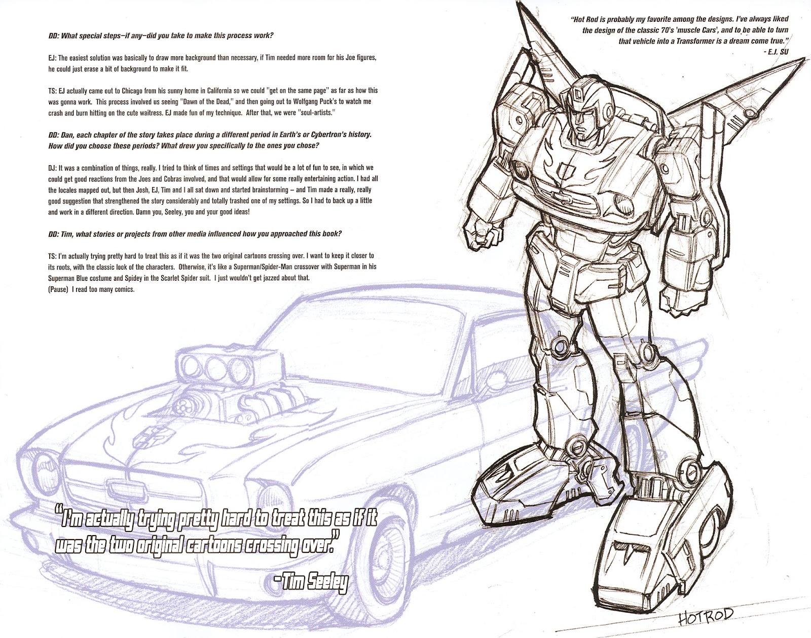 G.I. Joe vs. The Transformers II Issue #0 #1 - English 7