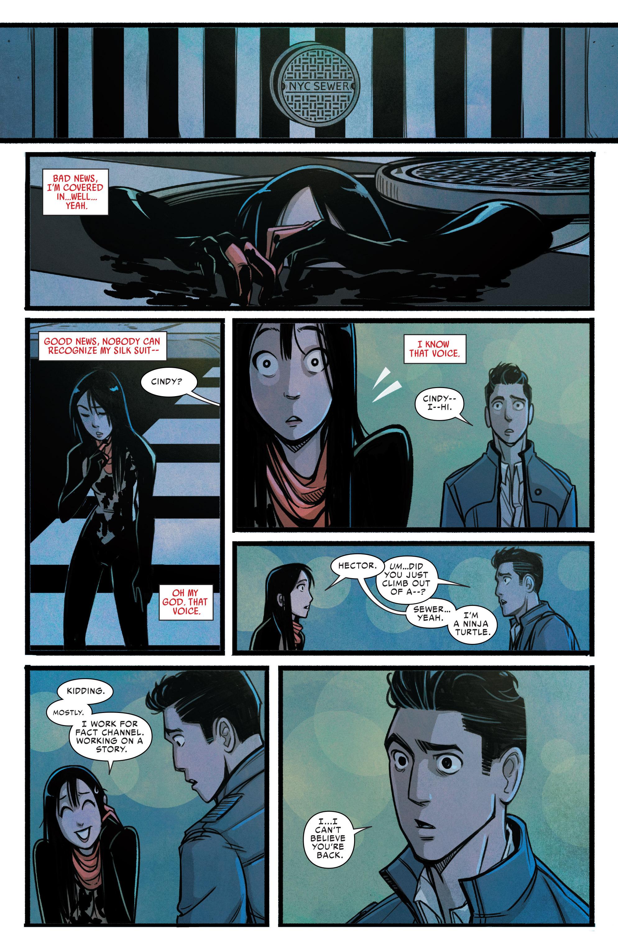 Read online Silk (2015) comic -  Issue #2 - 17