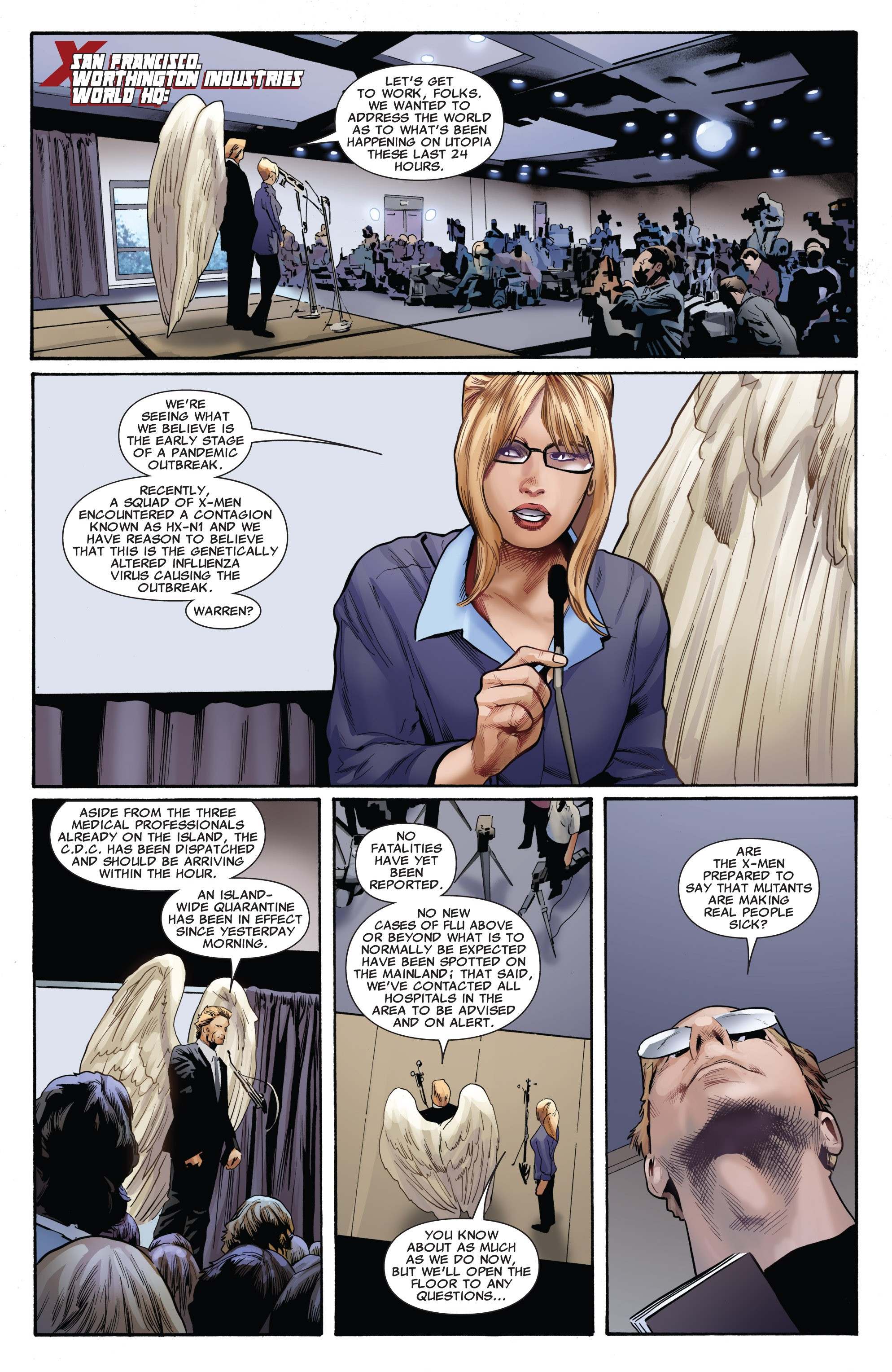 Read online Uncanny X-Men (1963) comic -  Issue #530 - 13
