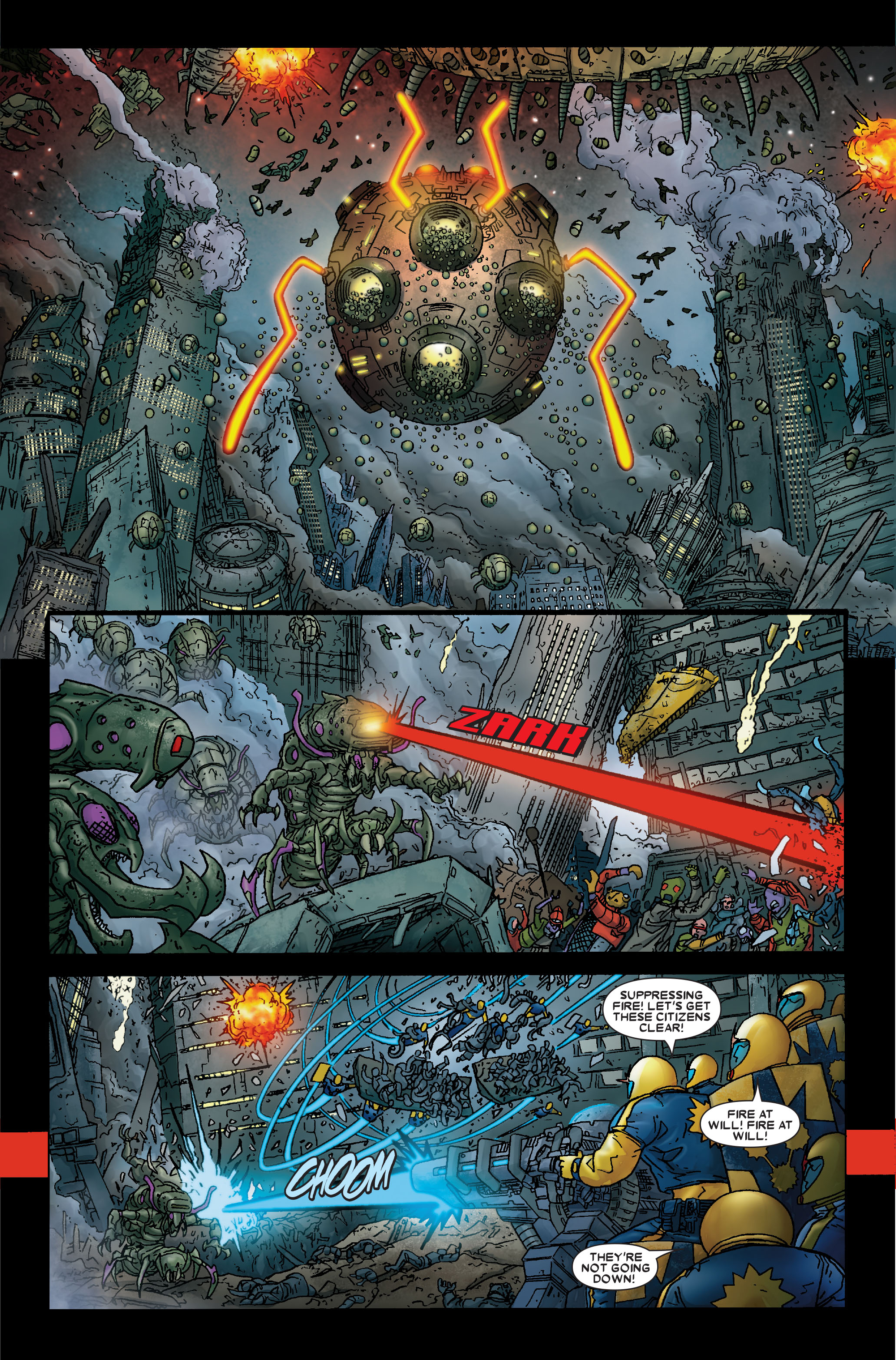 Read online Annihilation: Prologue comic -  Issue #Annihilation: Prologue Full - 23