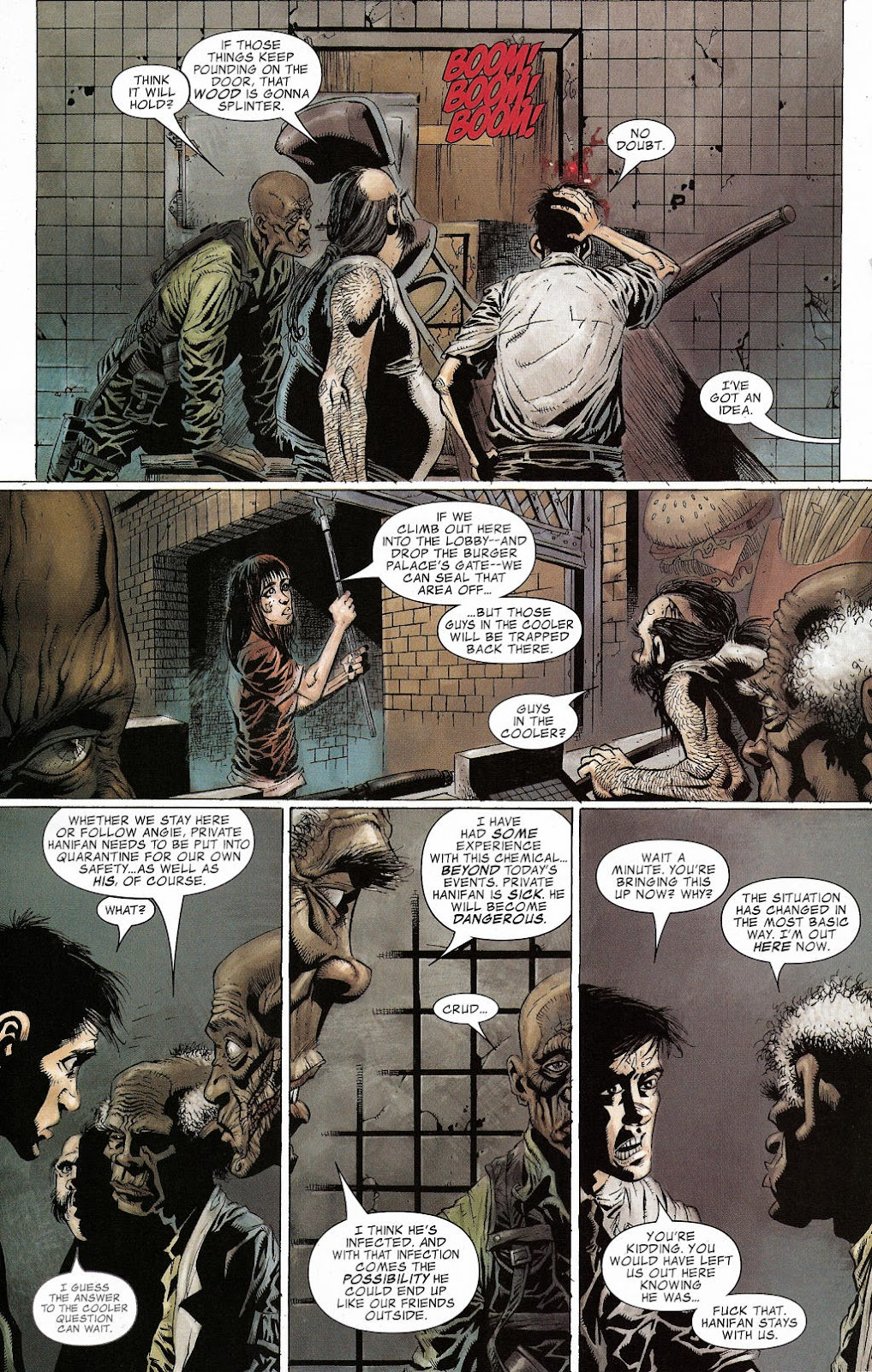 Read online Zombie (2006) comic -  Issue #2 - 12