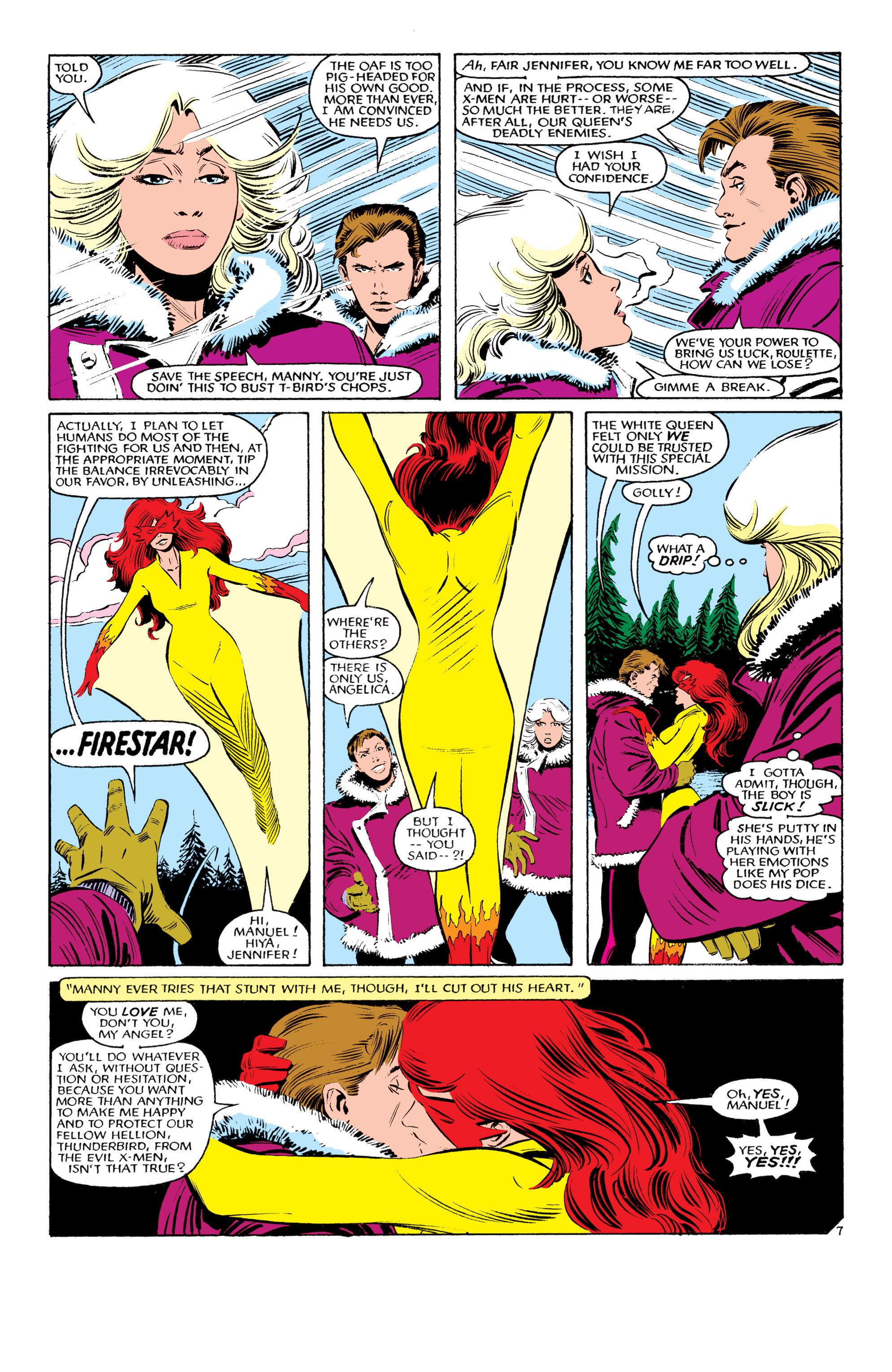 Read online Uncanny X-Men (1963) comic -  Issue #193 - 8