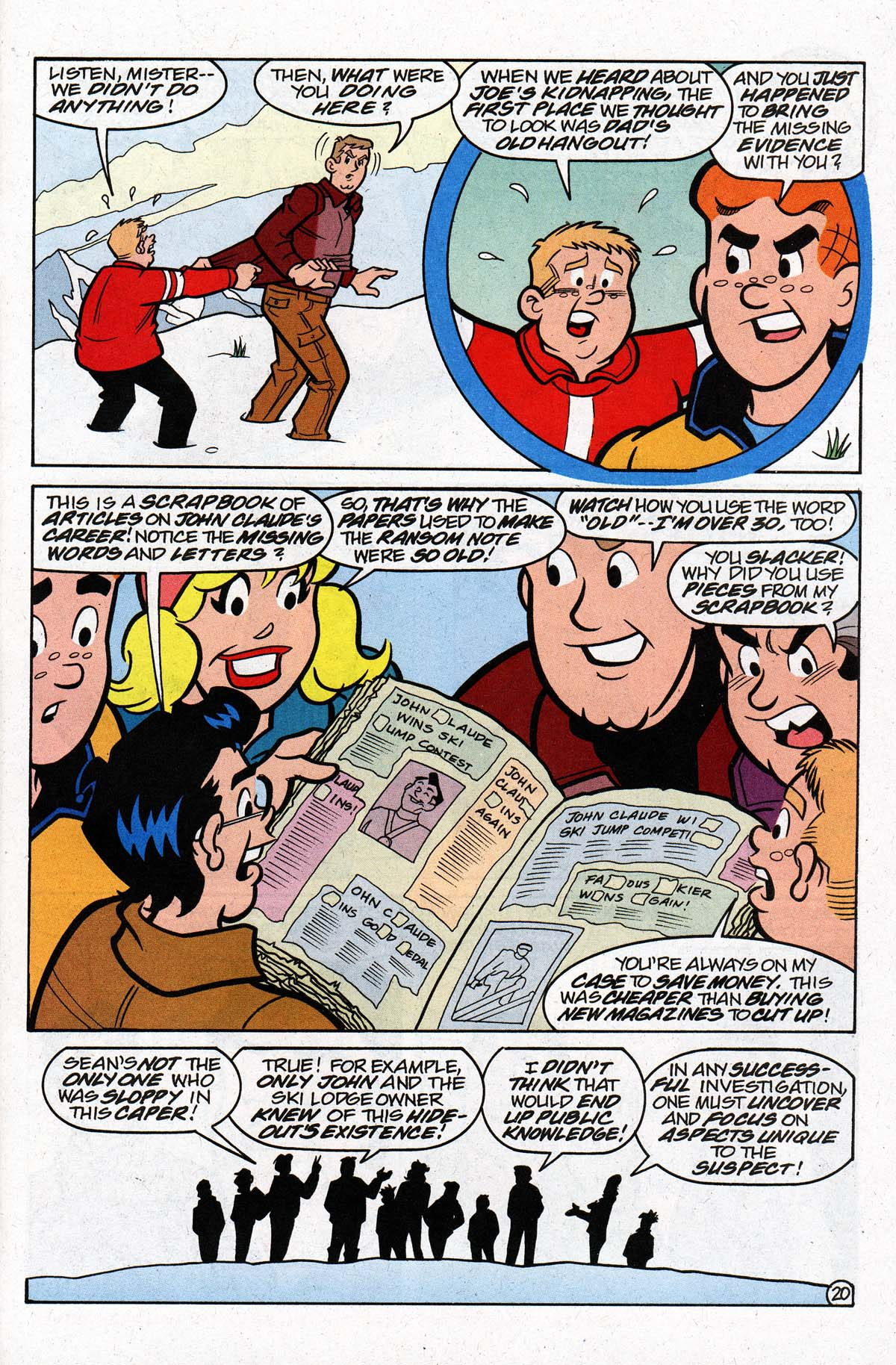 Read online Archie's Weird Mysteries comic -  Issue #26 - 26