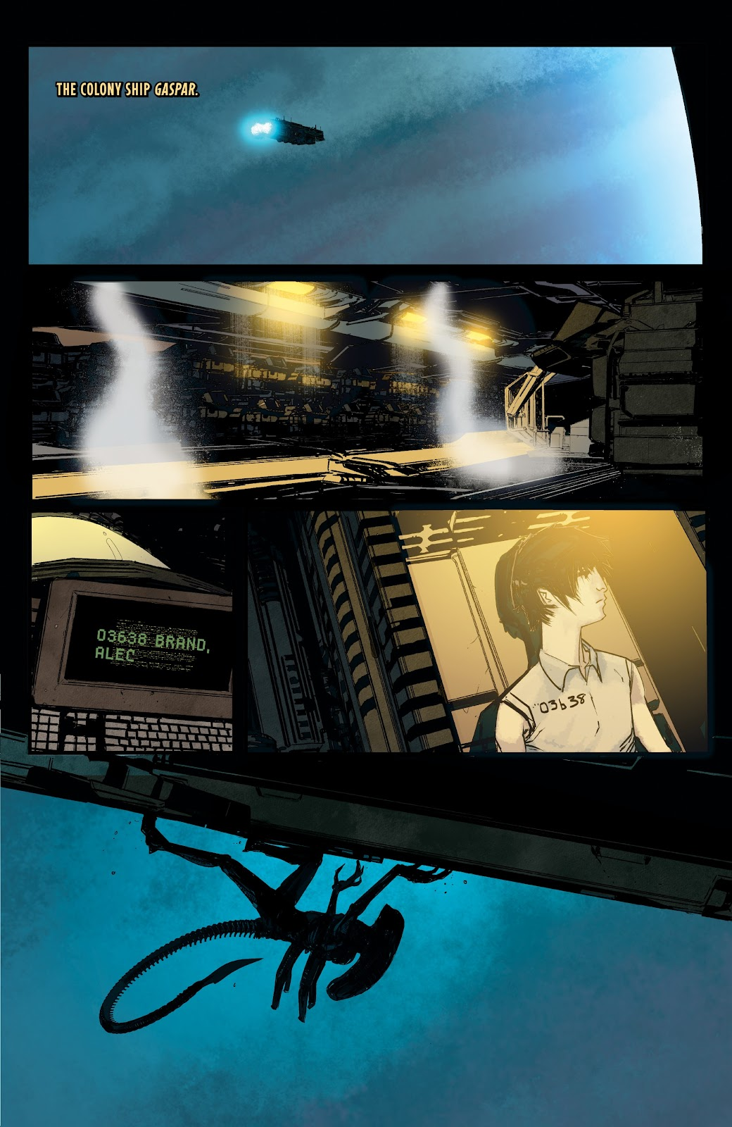 Read online Aliens: Resistance comic -  Issue #1 - 19