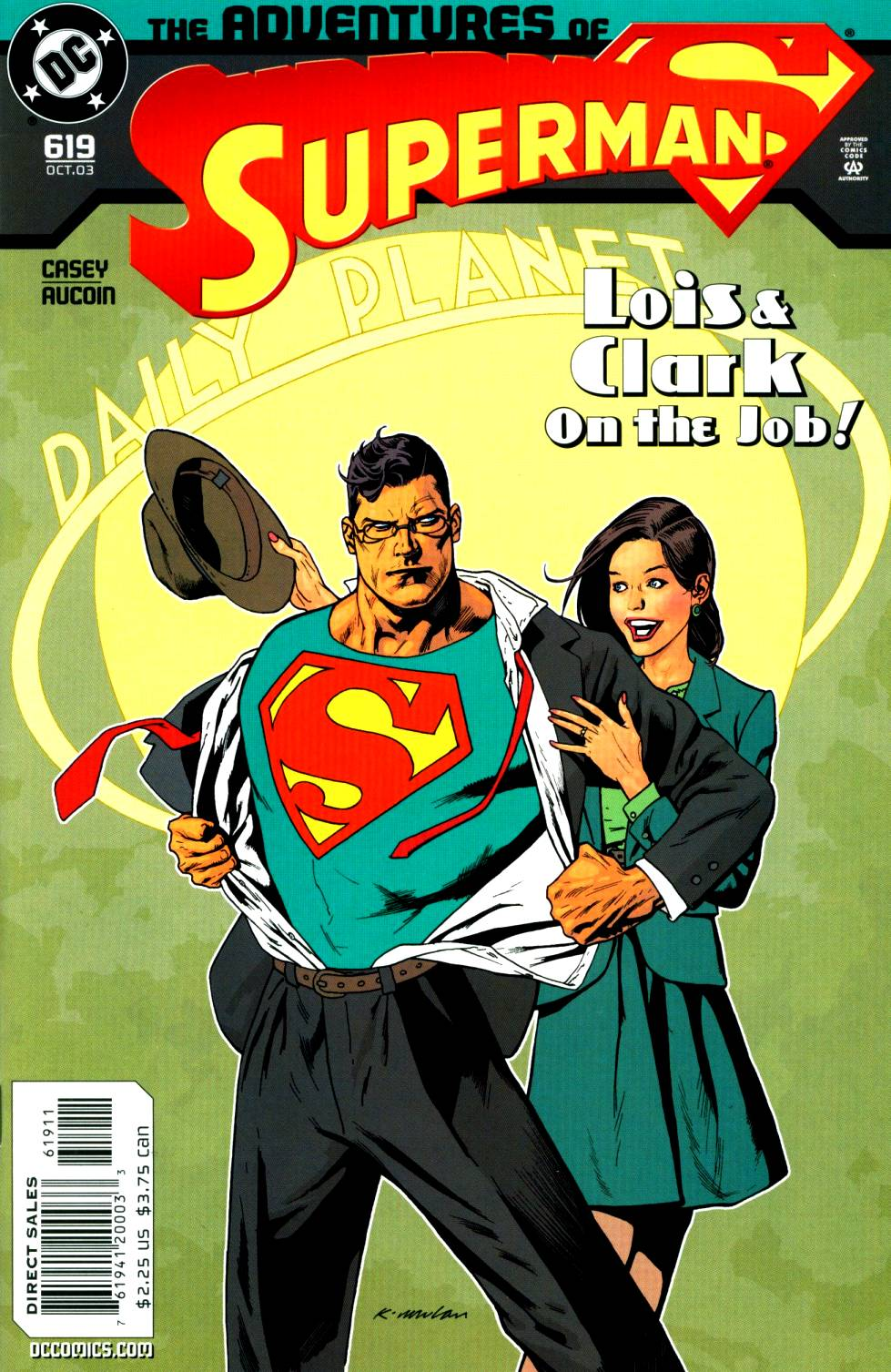 Read online Adventures of Superman (1987) comic -  Issue #619 - 1