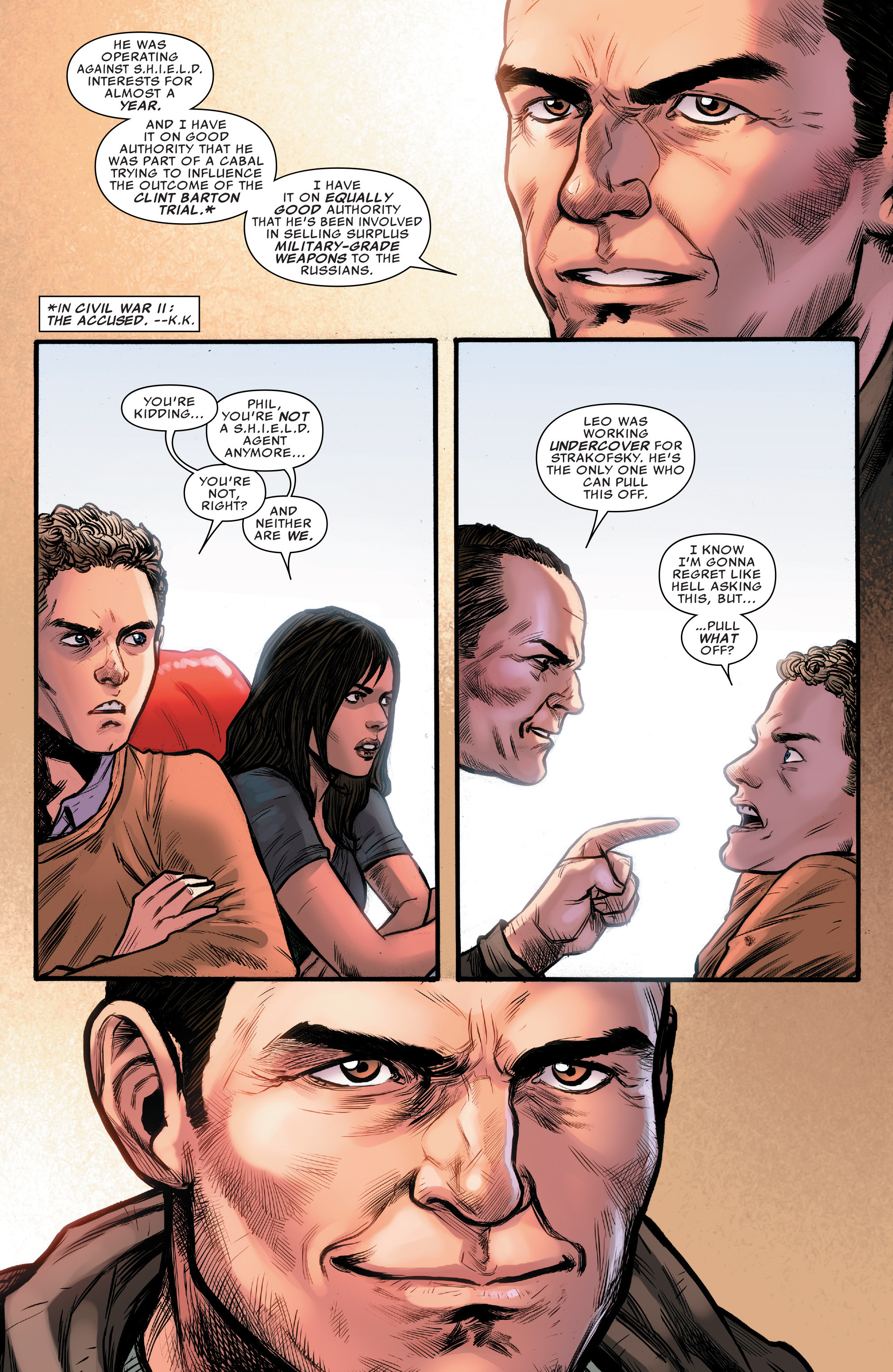 Read online Agents of S.H.I.E.L.D. comic -  Issue #10 - 7