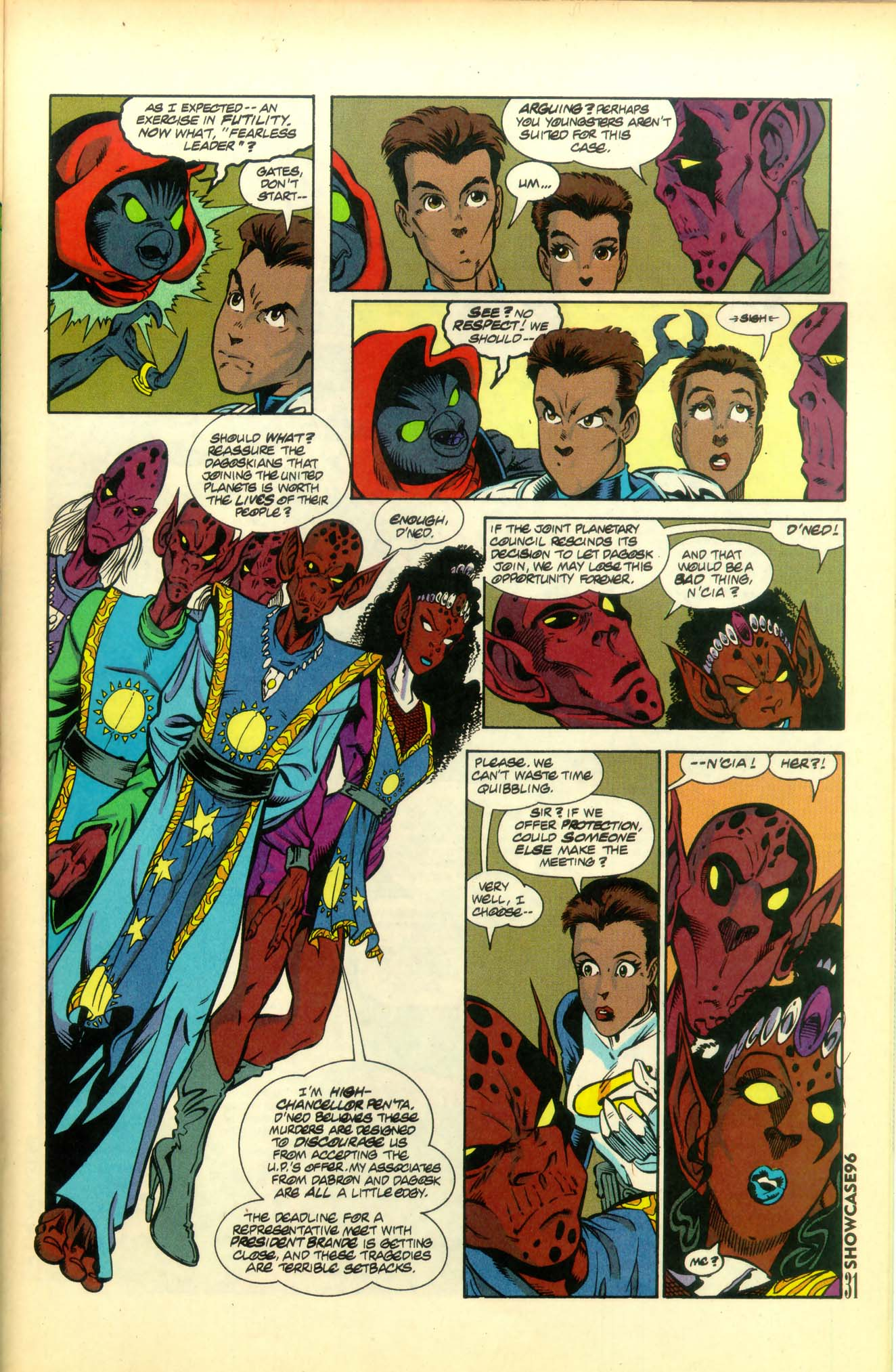 Read online Showcase '96 comic -  Issue #8 - 32