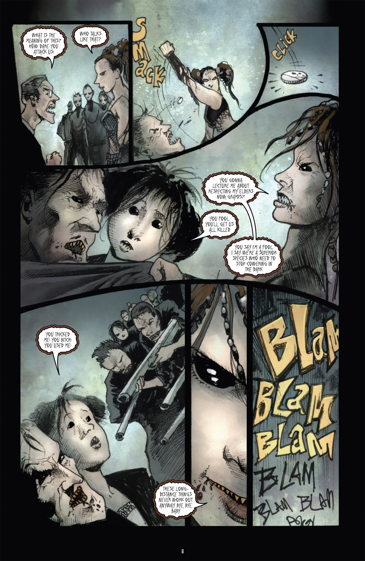 Read online 30 Days of Night (2011) comic -  Issue #1 - 12