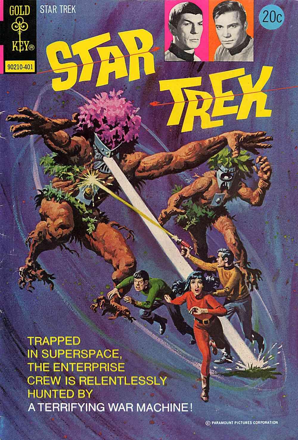 Star Trek (1967) issue 22 - Page 1