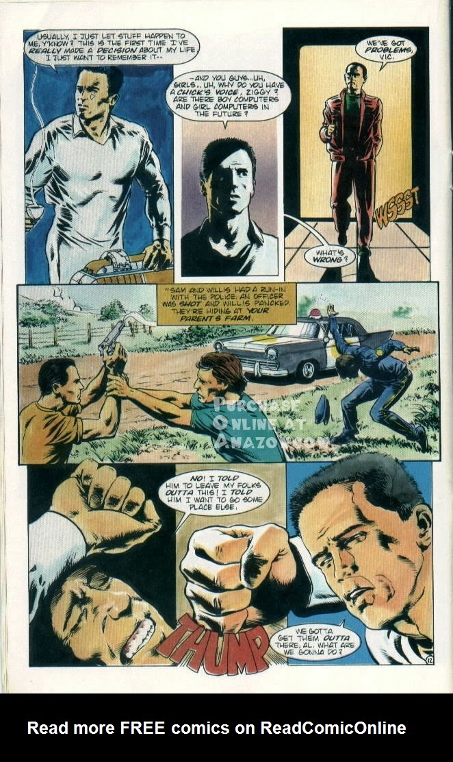 Read online Quantum Leap comic -  Issue #8 - 13