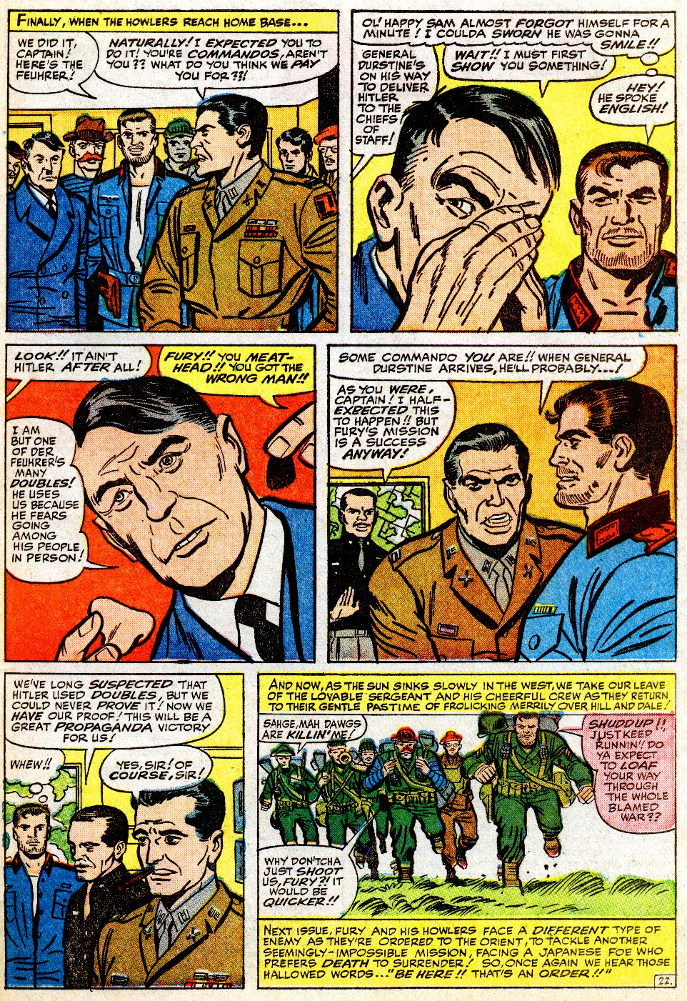 Read online Sgt. Fury comic -  Issue #9 - 31