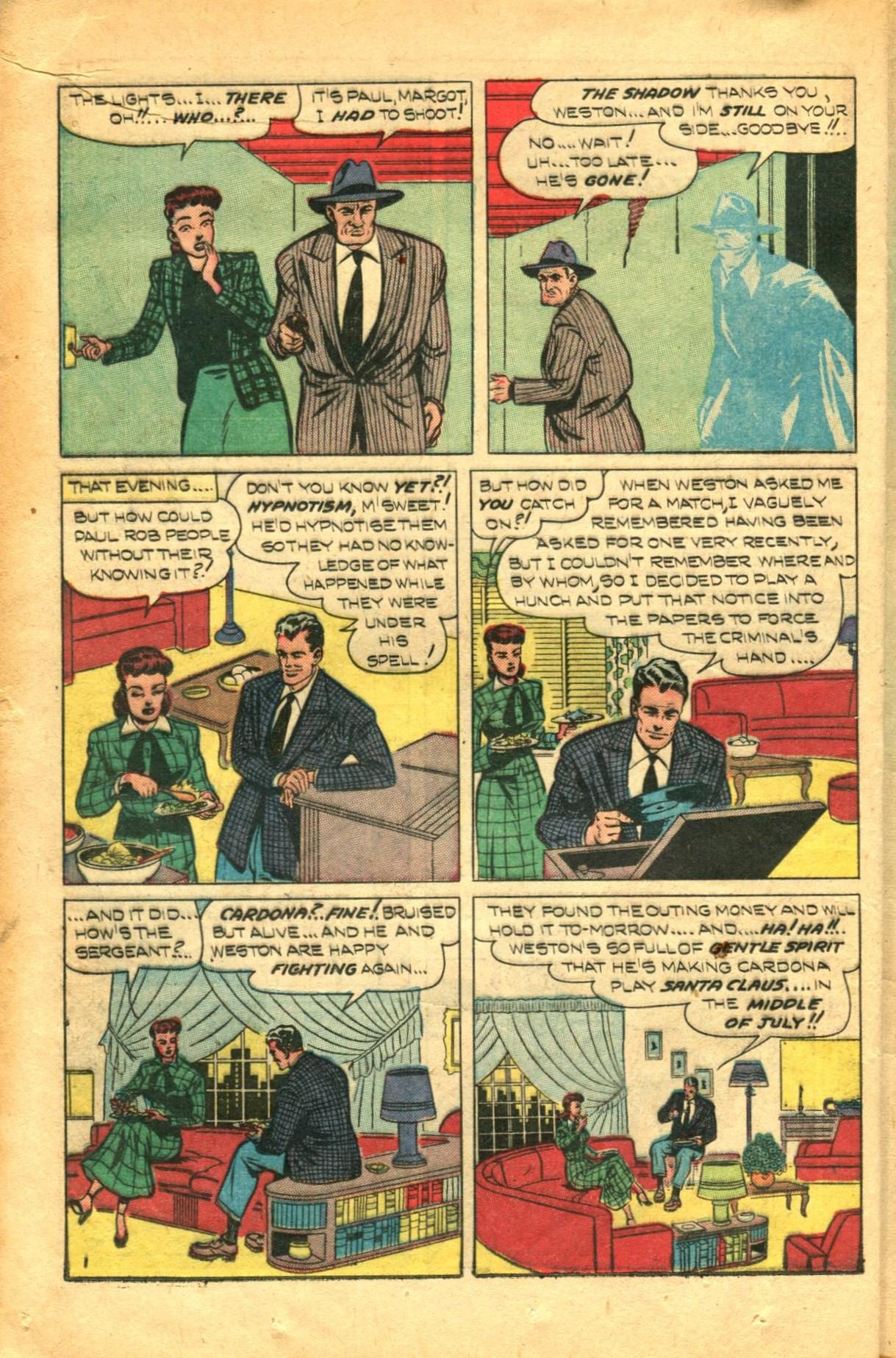 Read online Shadow Comics comic -  Issue #91 - 16
