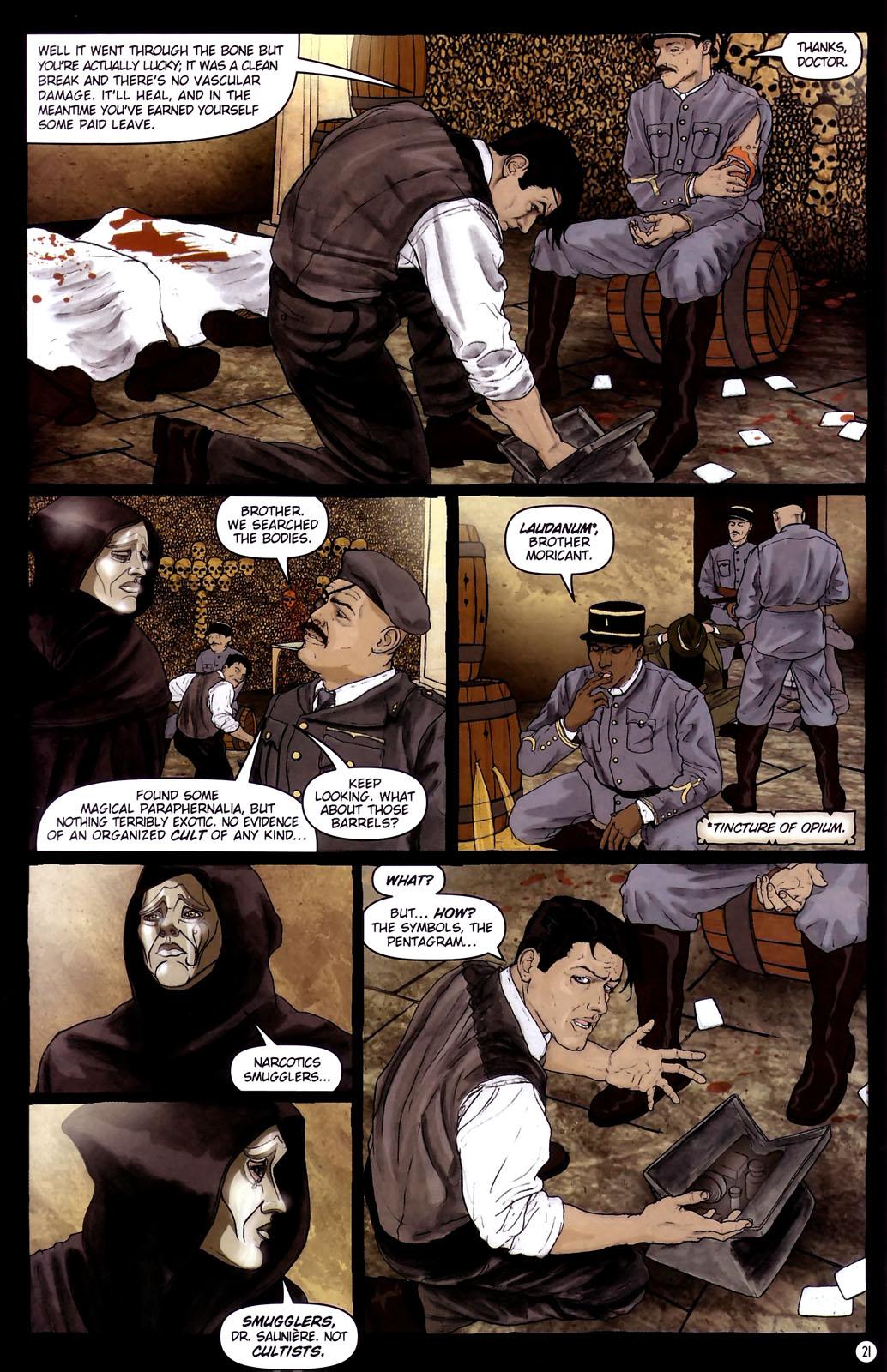 Read online Rex Mundi comic -  Issue #14 - 25