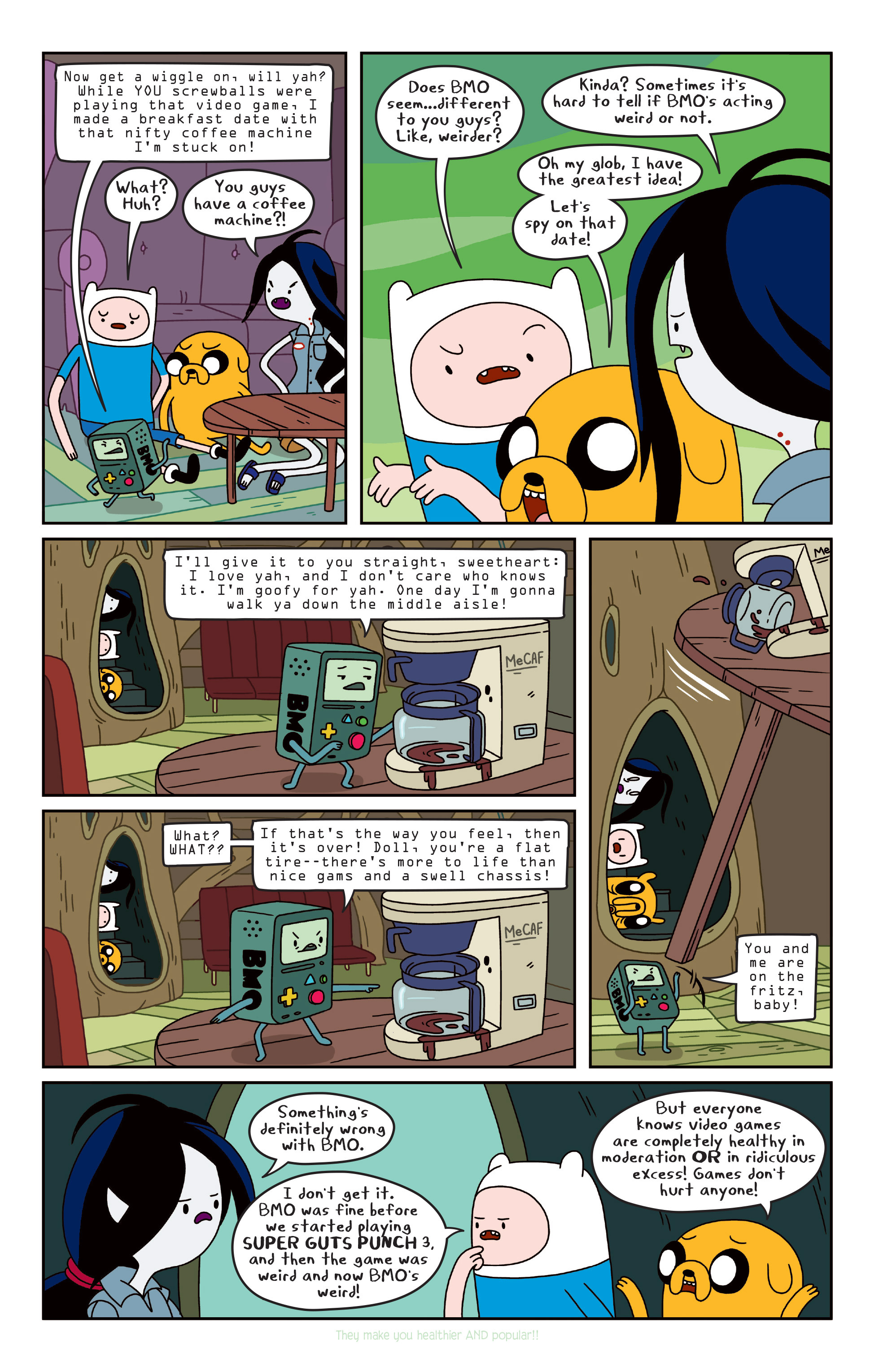 Read online Adventure Time comic -  Issue #Adventure Time _TPB 3 - 29