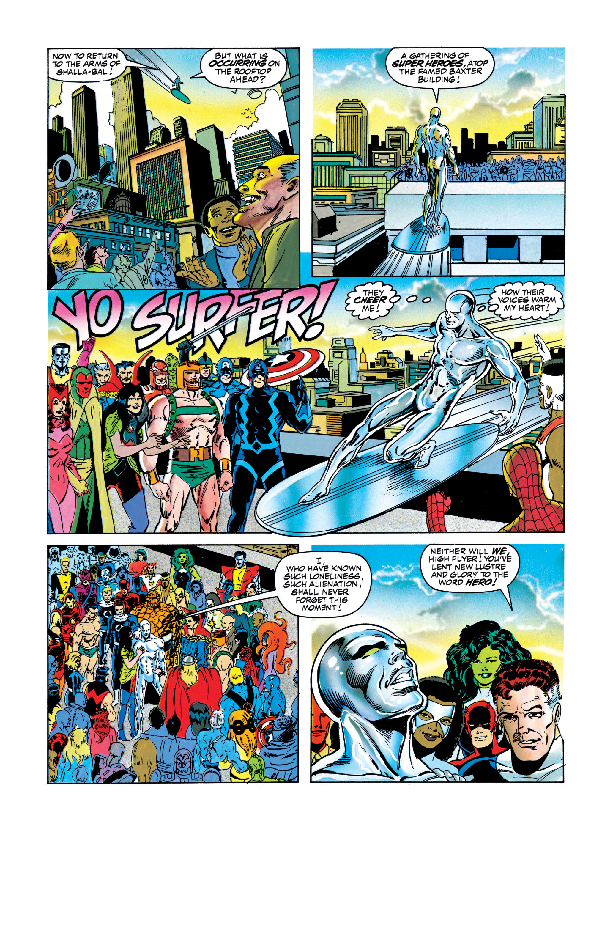 Read online Silver Surfer: Parable comic -  Issue # TPB - 130