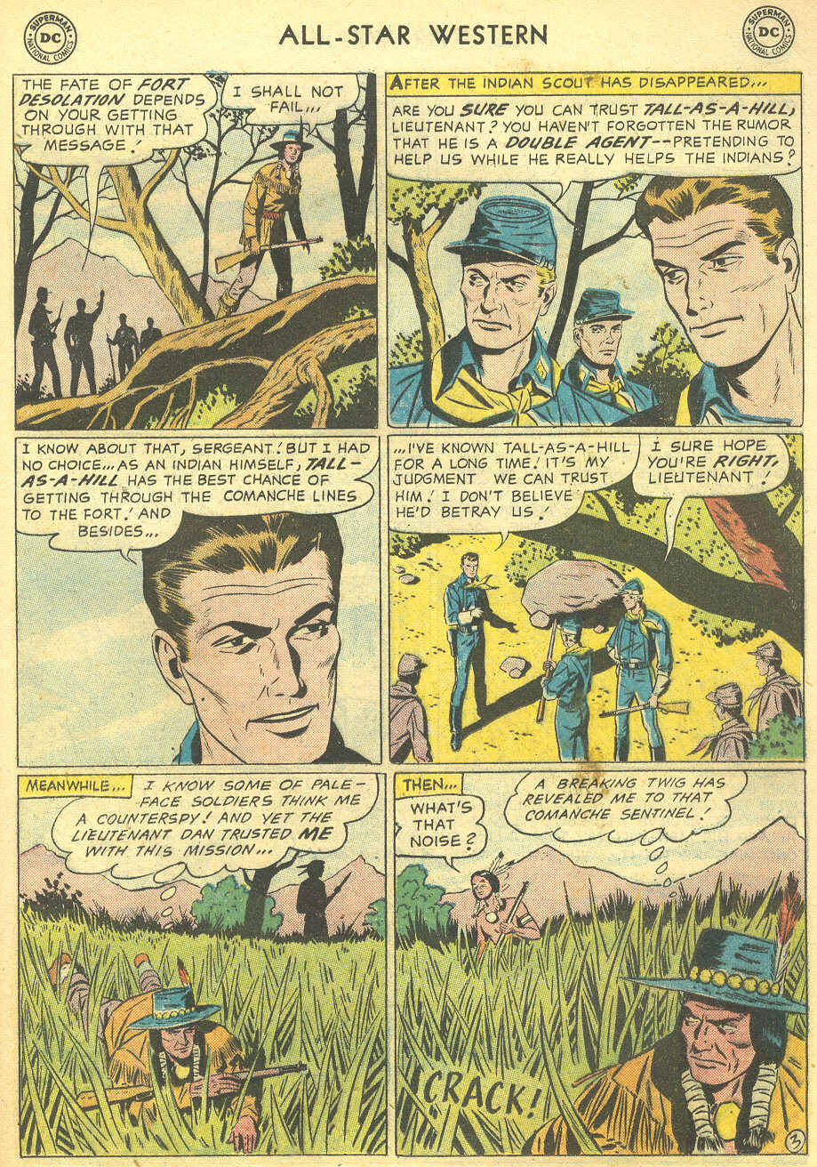 Read online All-Star Western (1951) comic -  Issue #95 - 21
