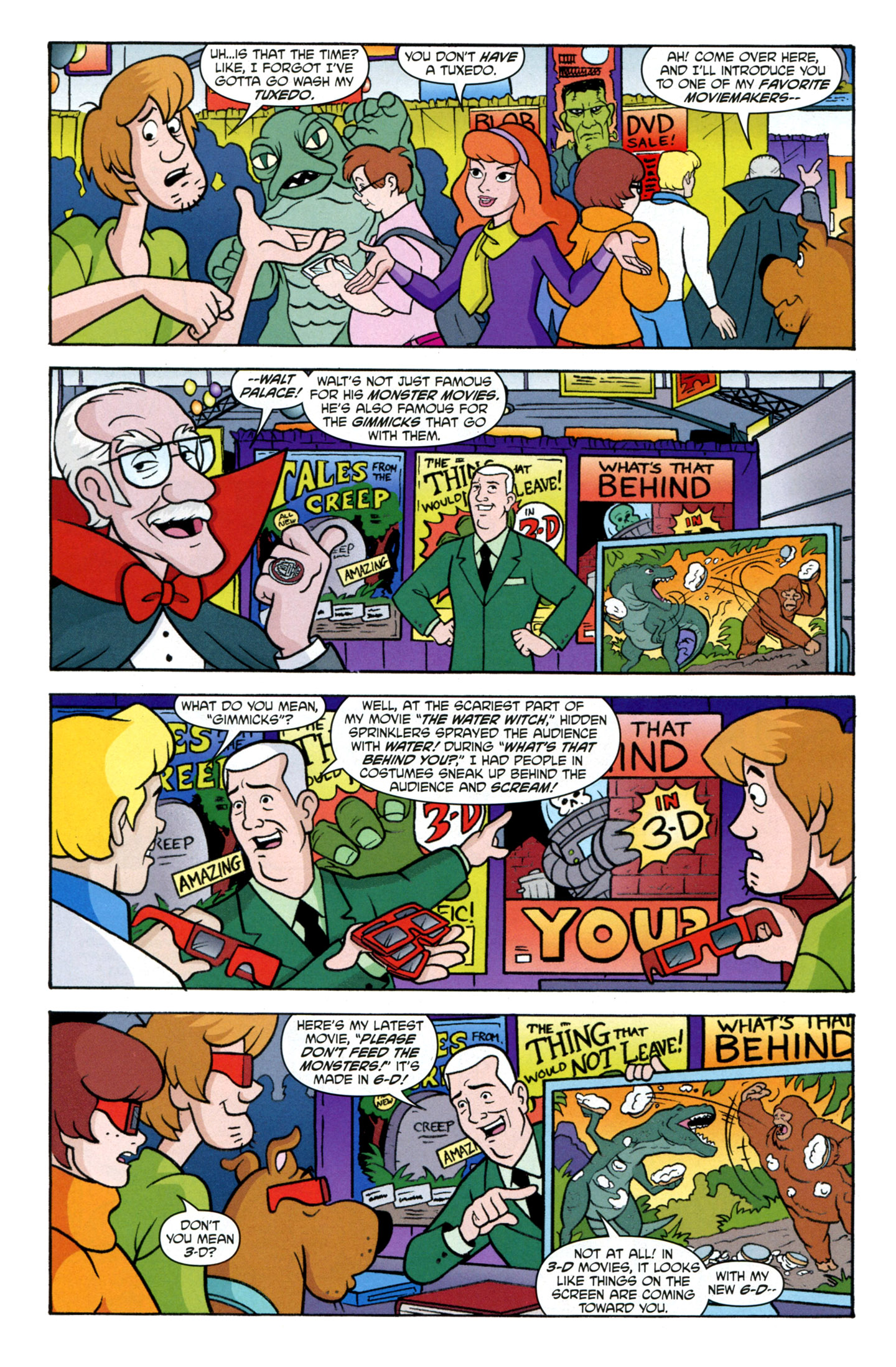 Read online Scooby-Doo: Where Are You? comic -  Issue #25 - 6