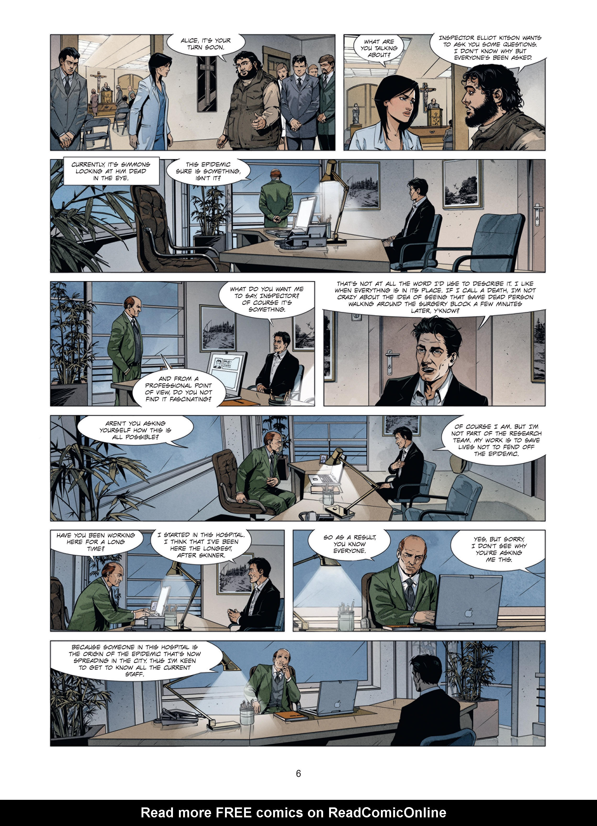 Read online Alice Matheson comic -  Issue #2.2 - 6