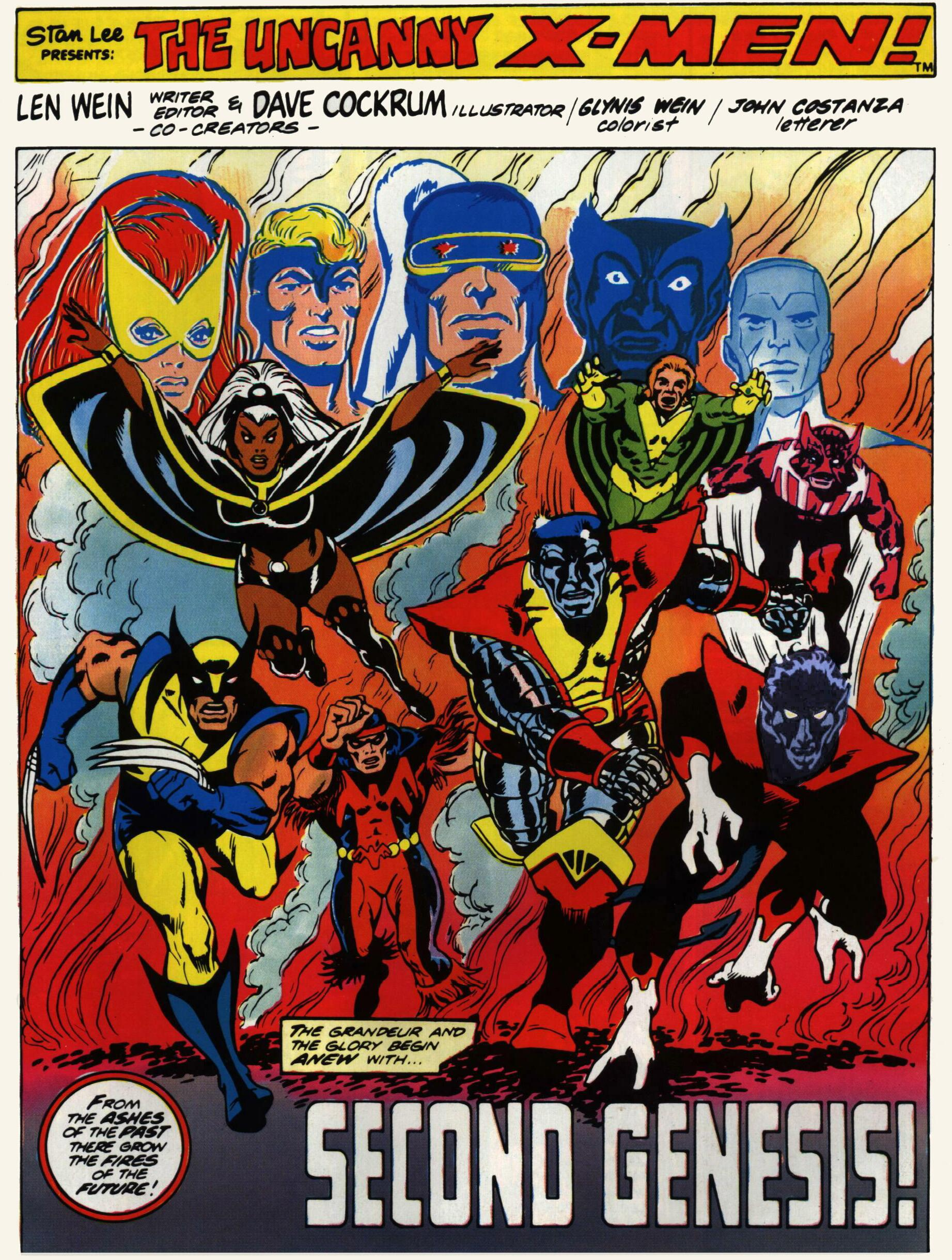 Read online Giant-Size X-Men comic -  Issue #1 - 2