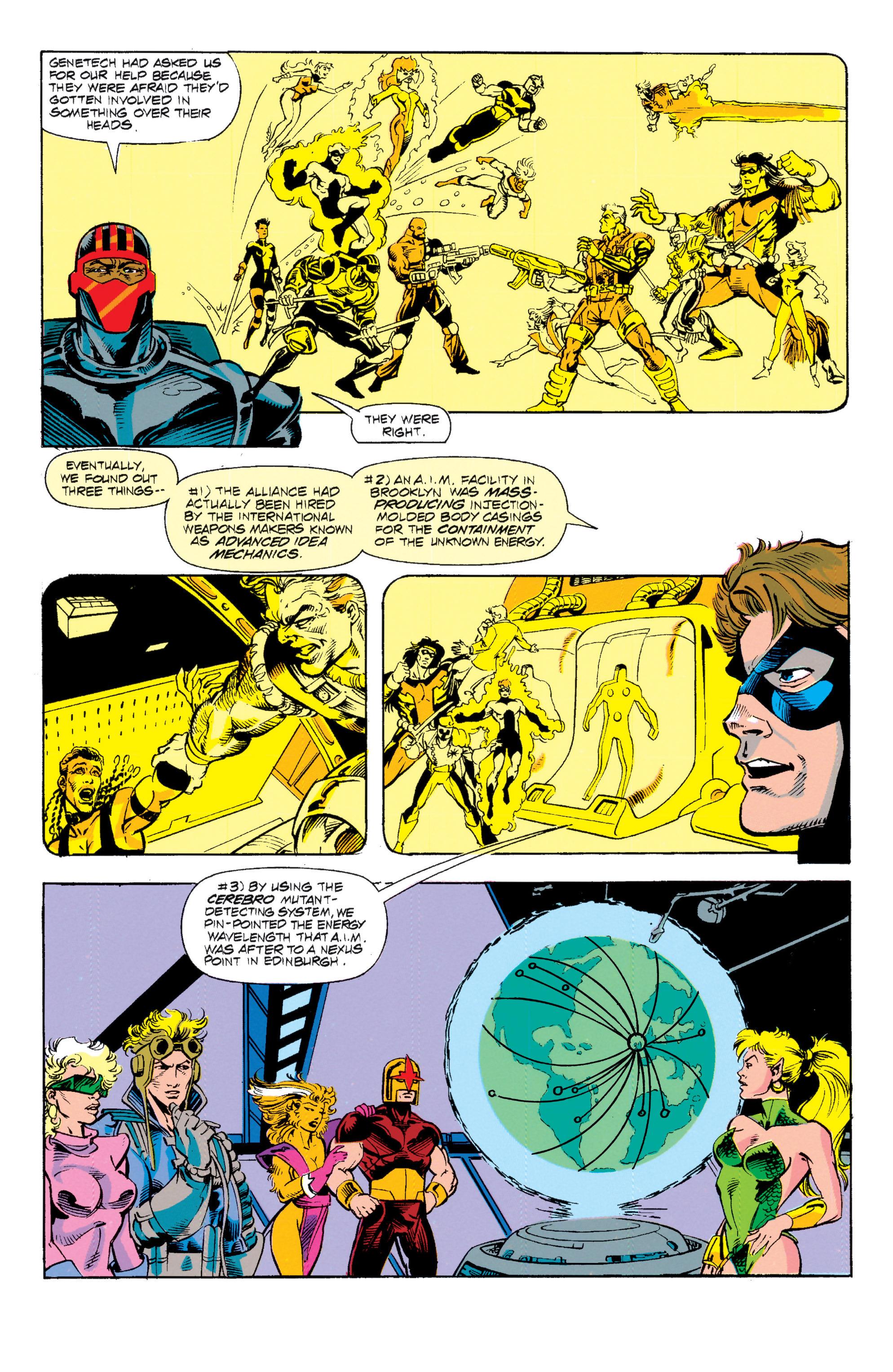 Read online Uncanny X-Men (1963) comic -  Issue # _Annual 15 - 14