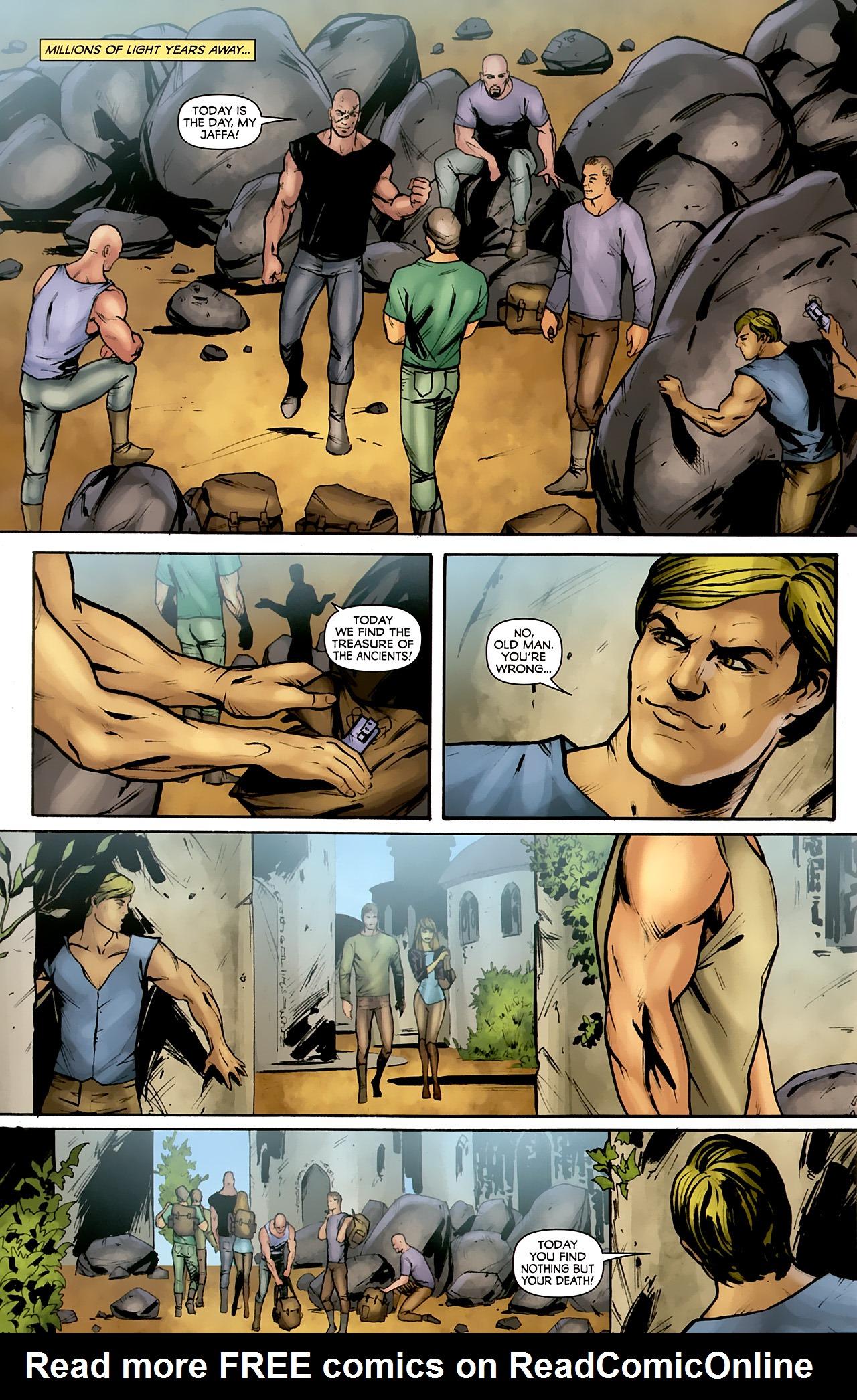 Read online Stargate: Daniel Jackson comic -  Issue #4 - 14