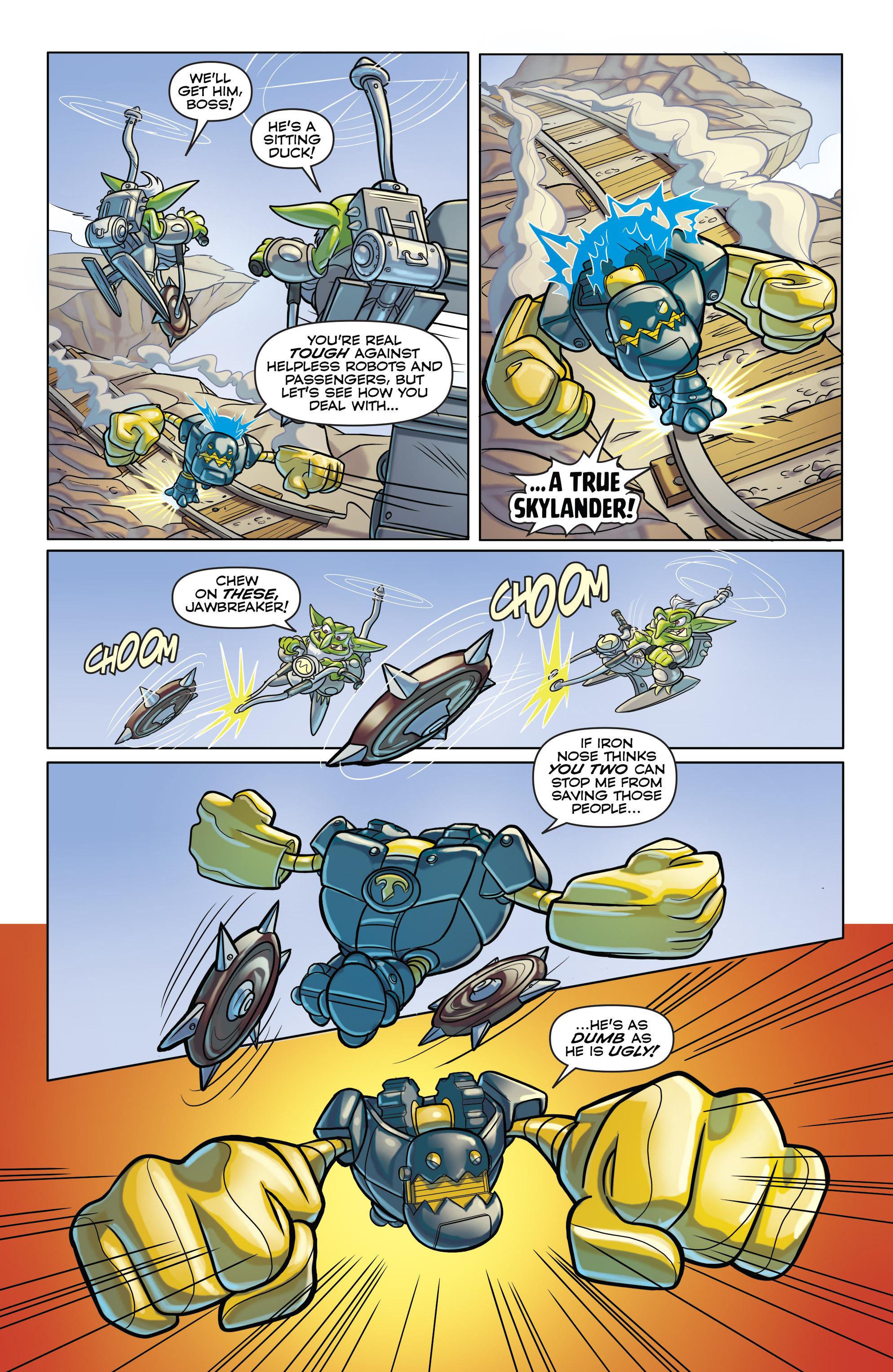 Read online Skylanders comic -  Issue #6 - 10