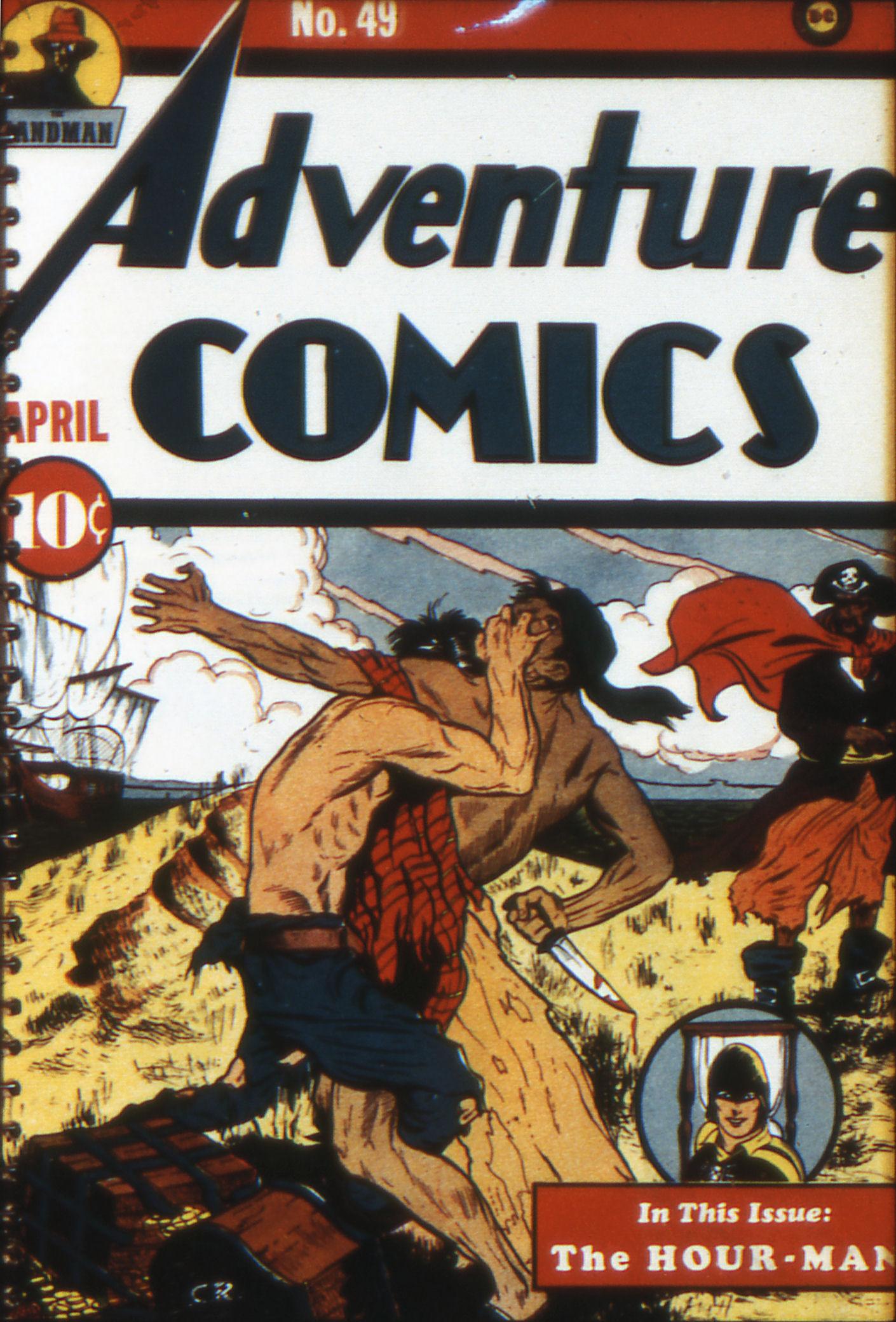 Read online Adventure Comics (1938) comic -  Issue #49 - 1