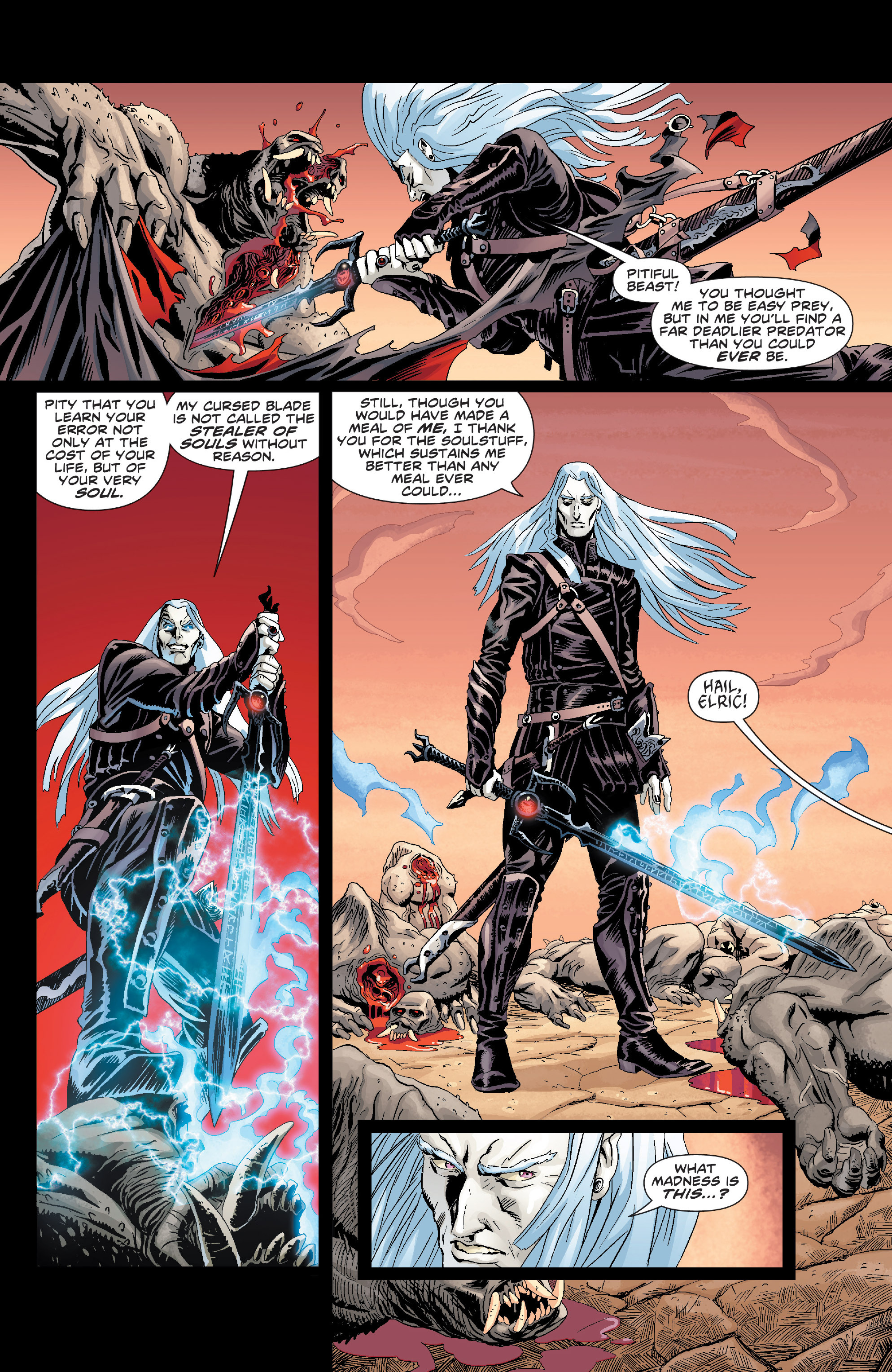 Read online Elric: The Balance Lost comic -  Issue # TPB 1 - 9