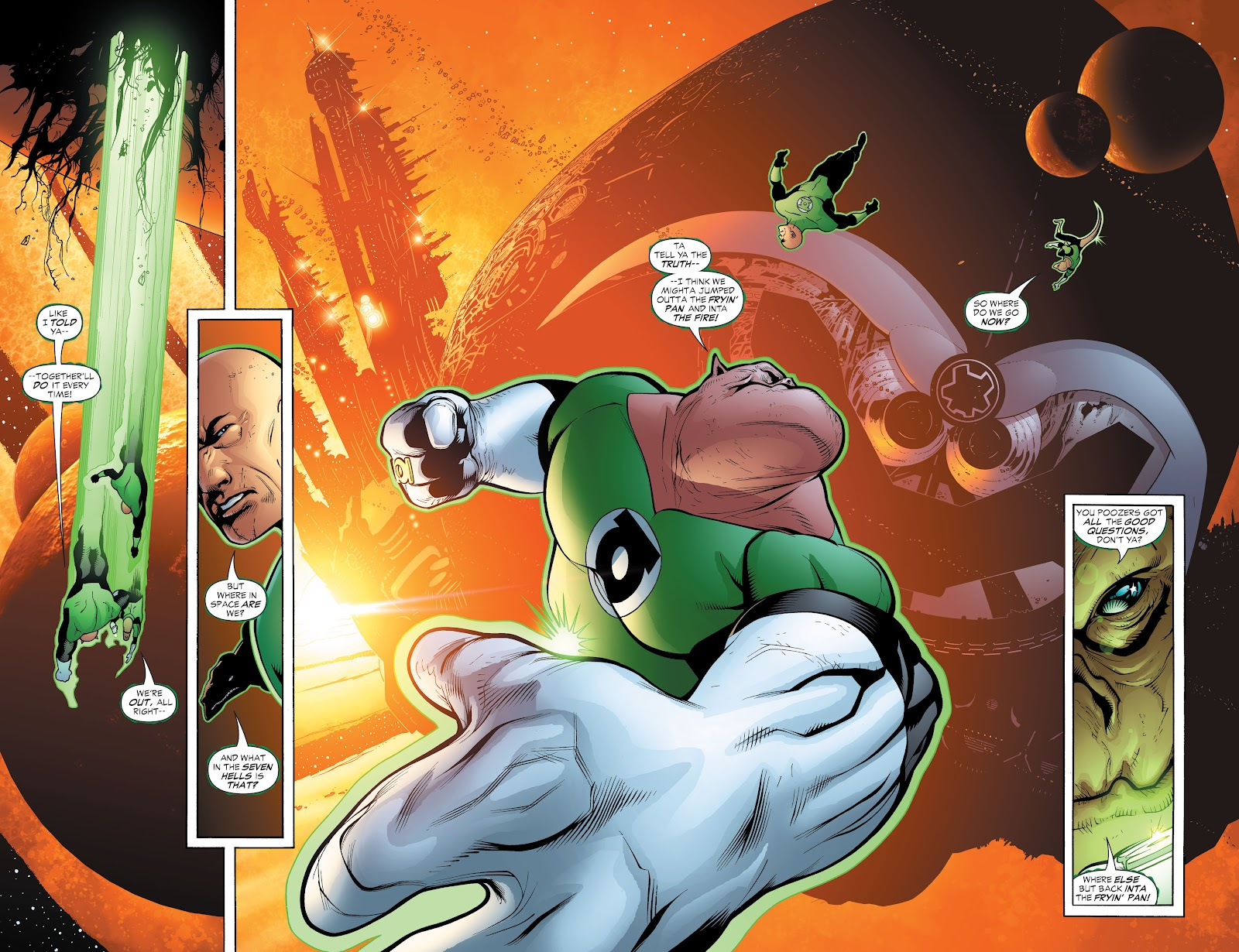 Read online Green Lantern by Geoff Johns comic -  Issue # TPB 1 (Part 3) - 41