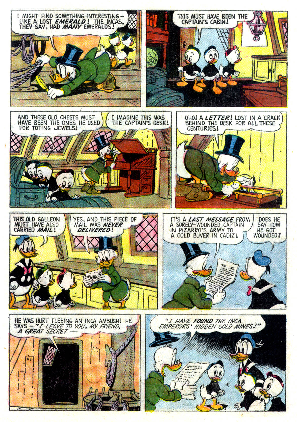 Read online Uncle Scrooge (1953) comic -  Issue #26 - 5