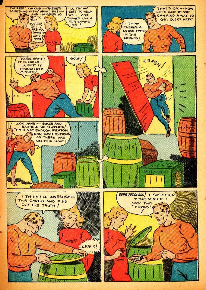 Read online Amazing Man Comics comic -  Issue #12 - 54