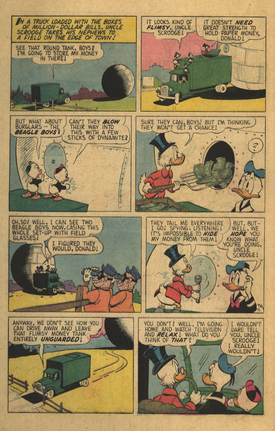 Read online Uncle Scrooge (1953) comic -  Issue #136 - 16
