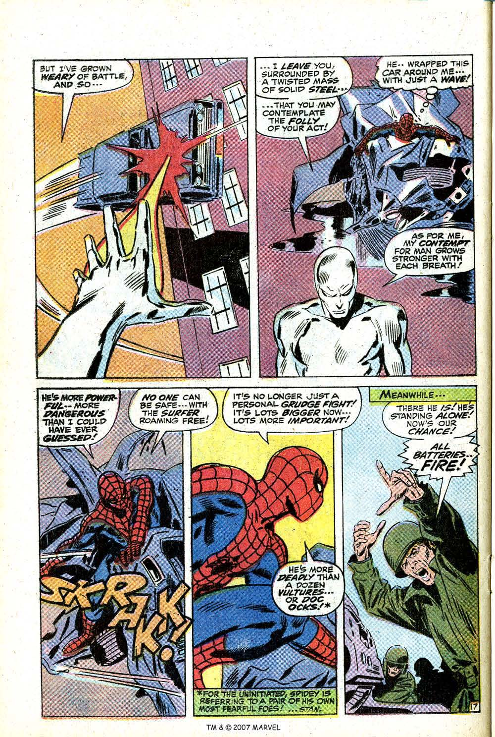 Read online Silver Surfer (1968) comic -  Issue #14 - 24