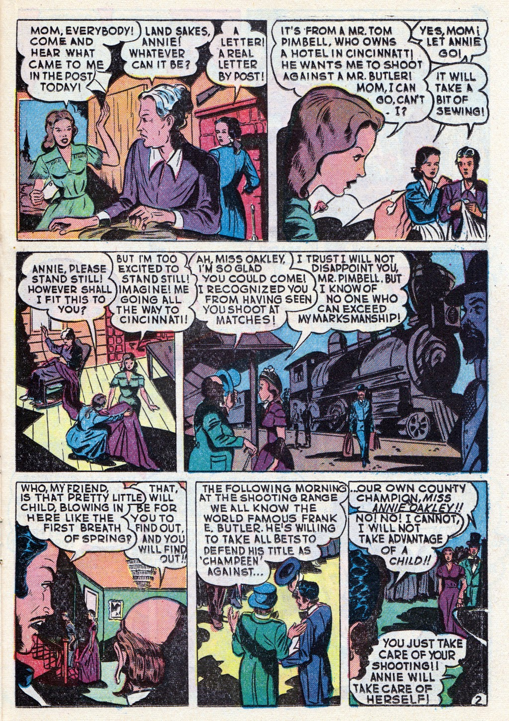 Cowboy Western Comics (1948) issue 18 - Page 21