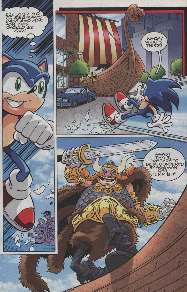 Read online Sonic X comic -  Issue #35 - 6
