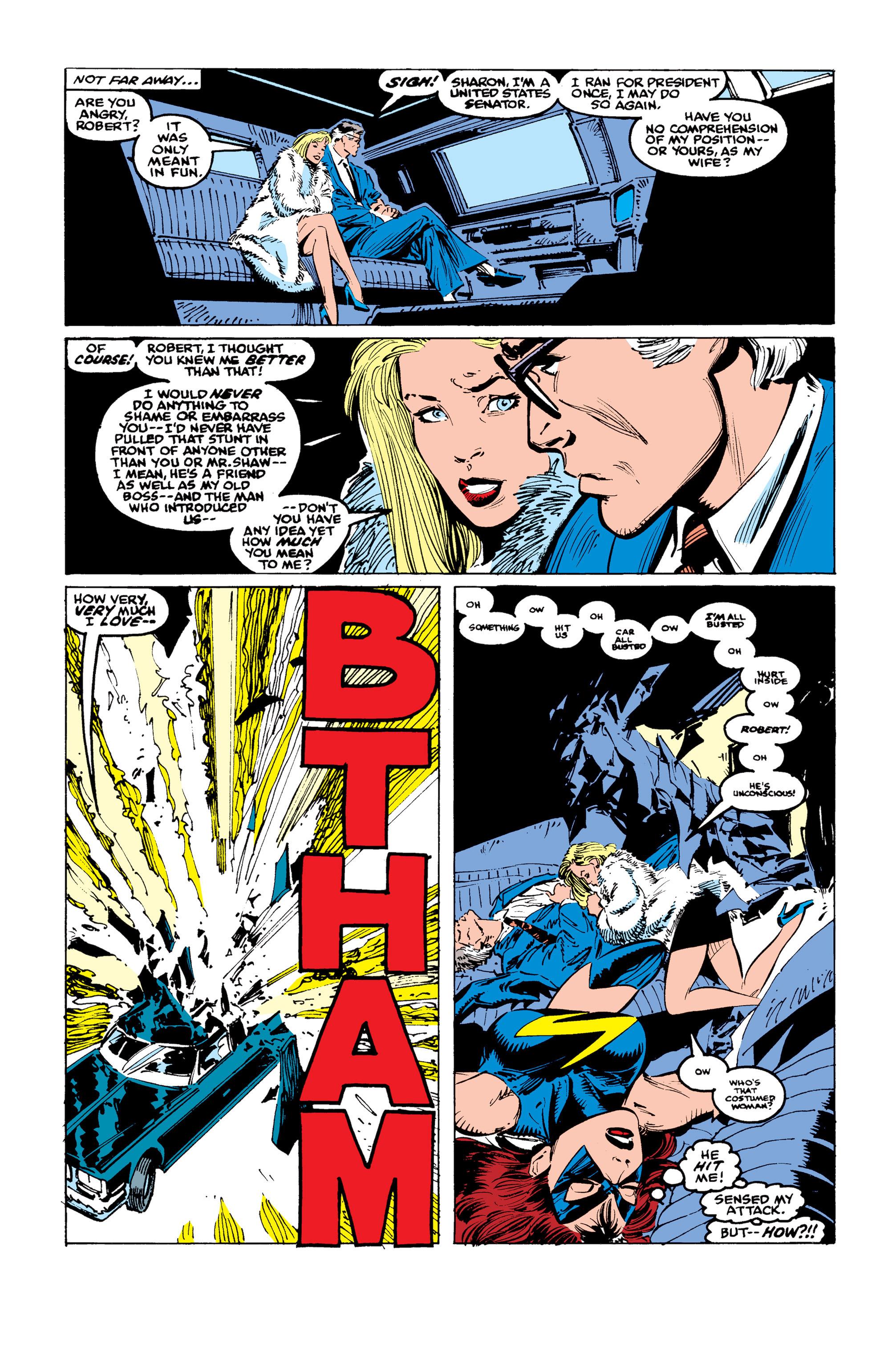 Read online Uncanny X-Men (1963) comic -  Issue #246 - 21