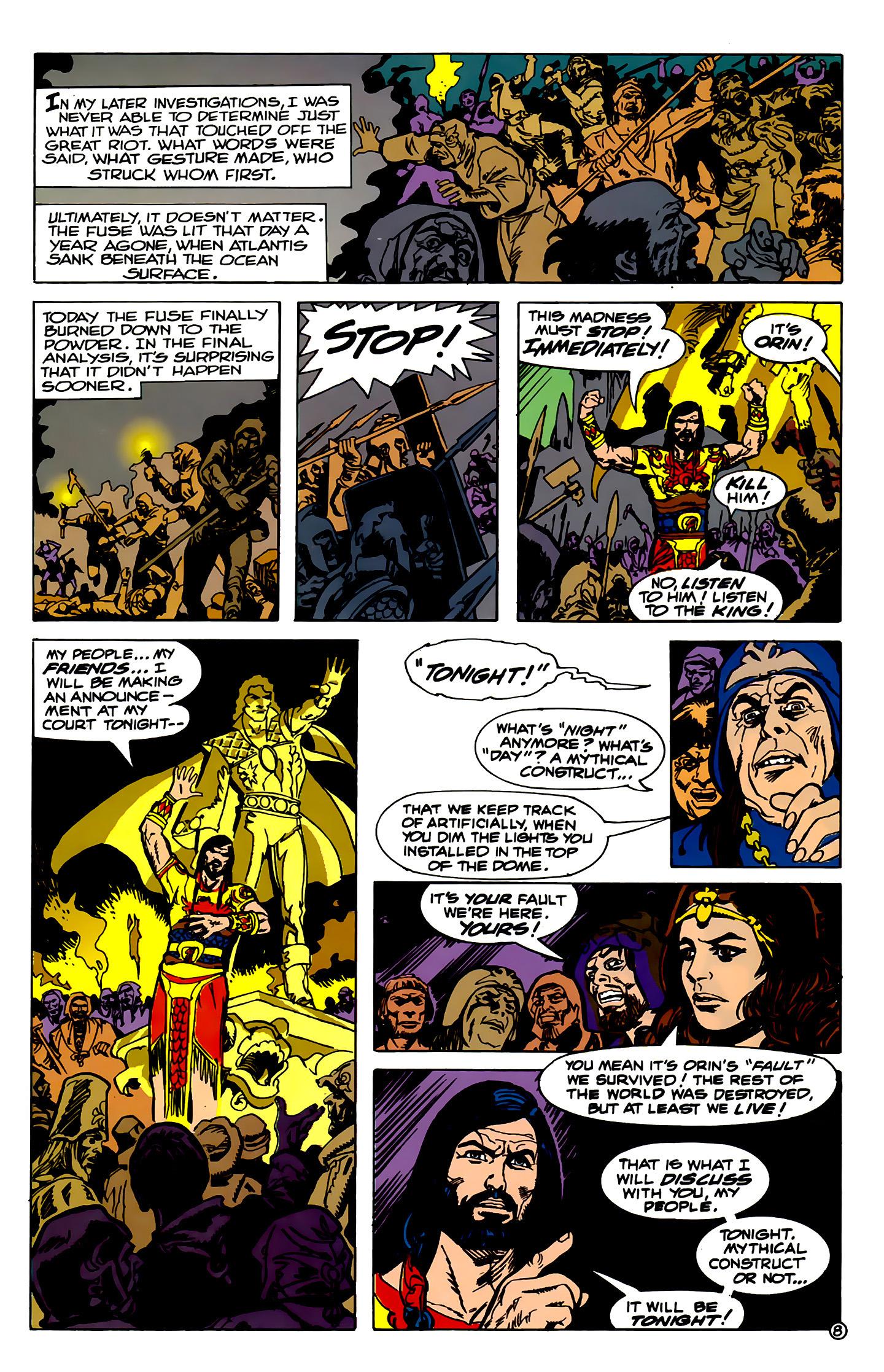 Read online Atlantis Chronicles comic -  Issue #2 - 8