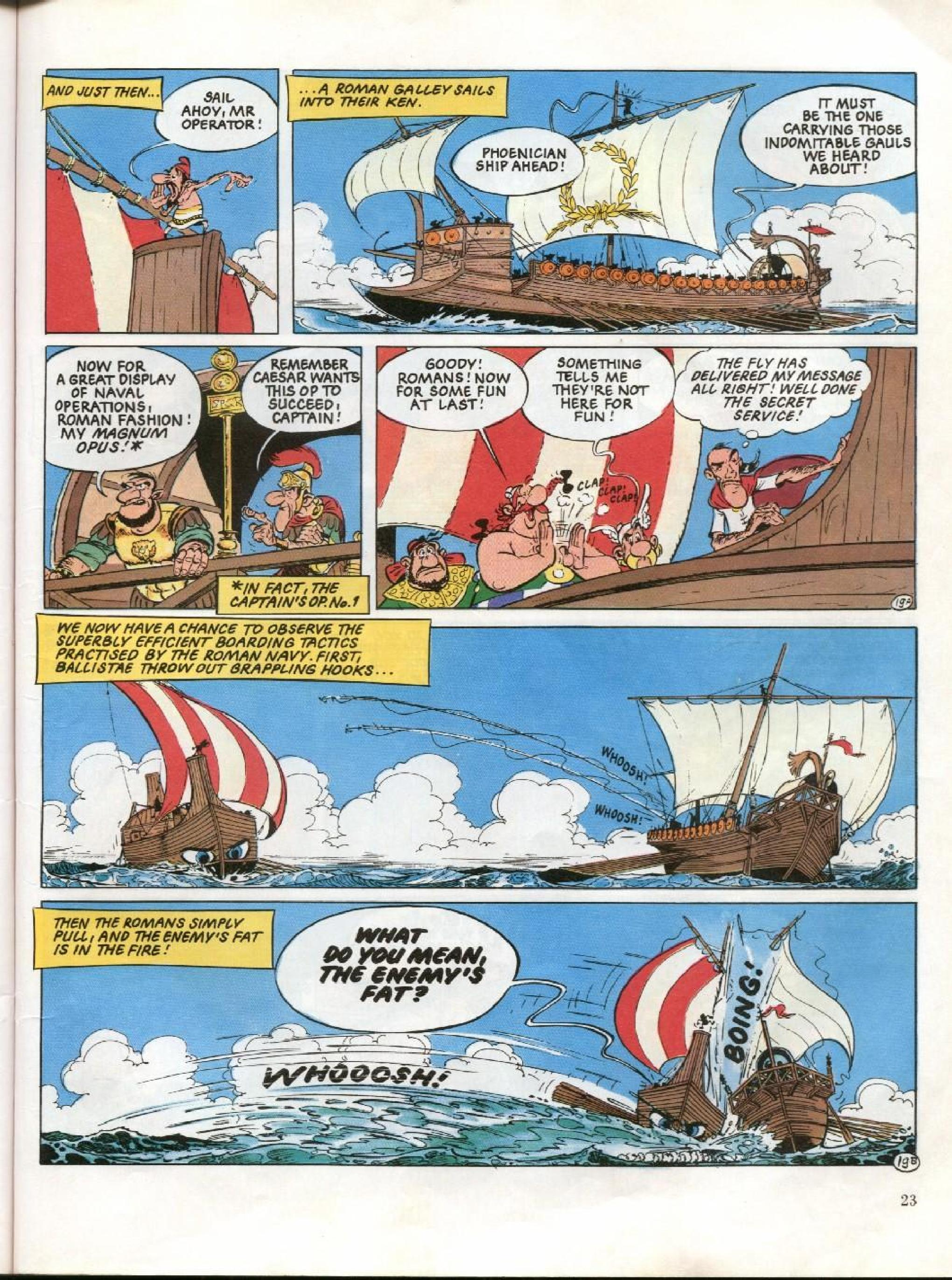 Read online Asterix comic -  Issue #26 - 20