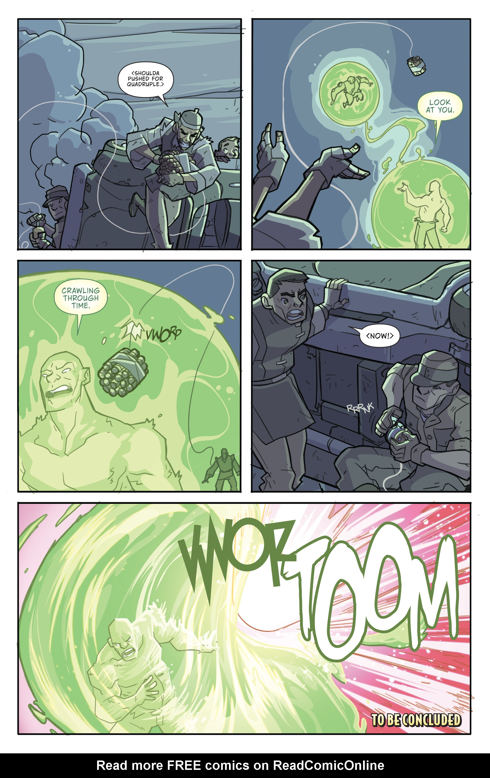 Read online Atomic Robo and the Temple of Od comic -  Issue #4 - 24