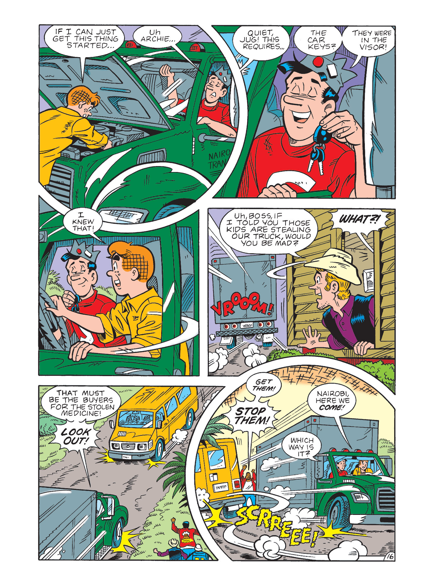 Read online Archie's Funhouse Double Digest comic -  Issue #3 - 52
