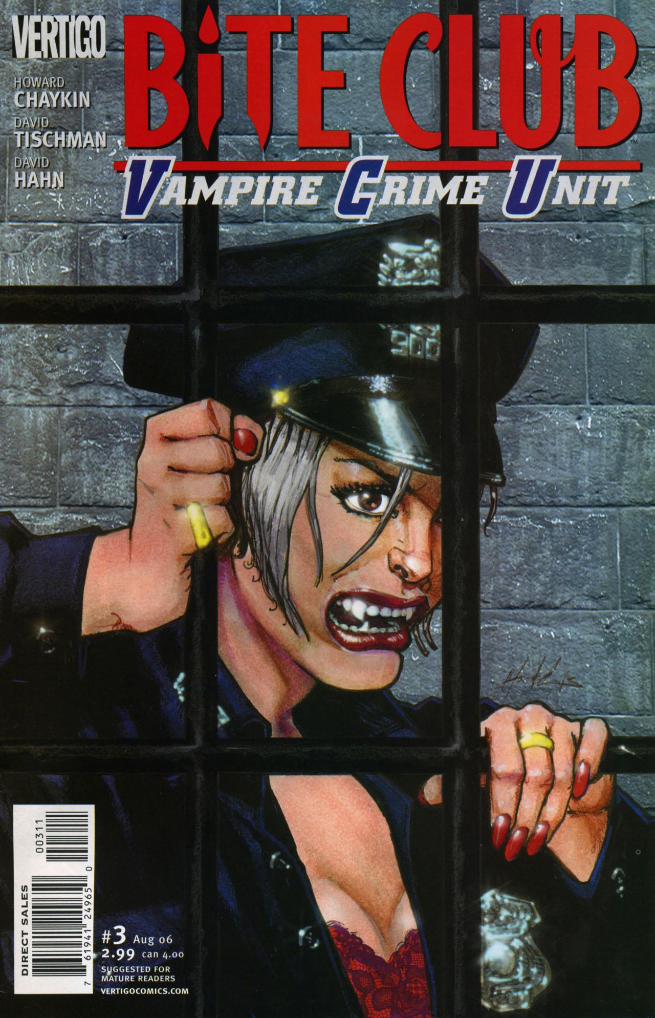 Bite Club - Vampire Crime Unit issue 3 - Page 1