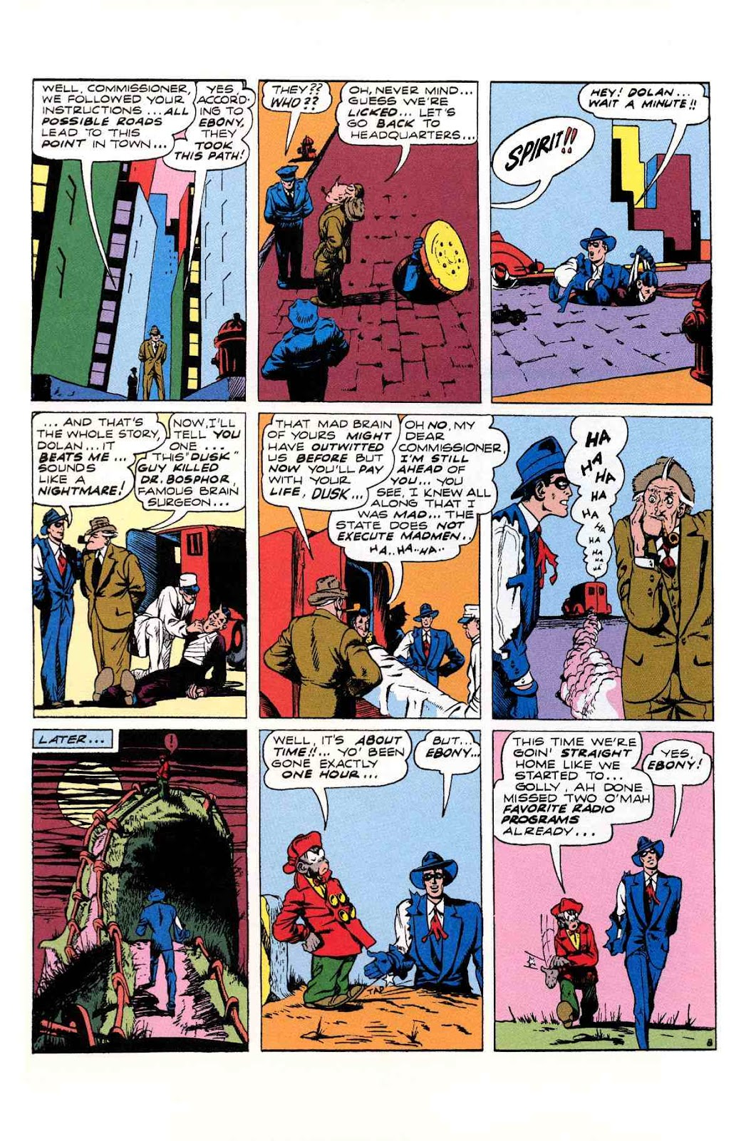 Read online Will Eisner's The Spirit Archives comic -  Issue # TPB 2 (Part 2) - 92