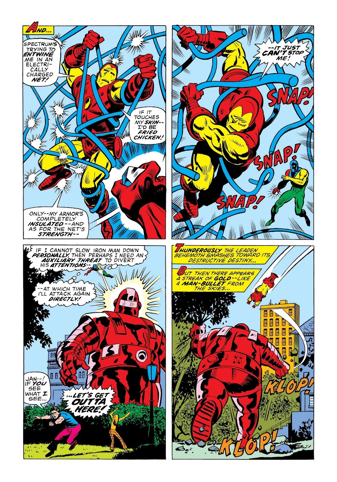 Read online Marvel Masterworks: The Invincible Iron Man comic -  Issue # TPB 9 (Part 3) - 64