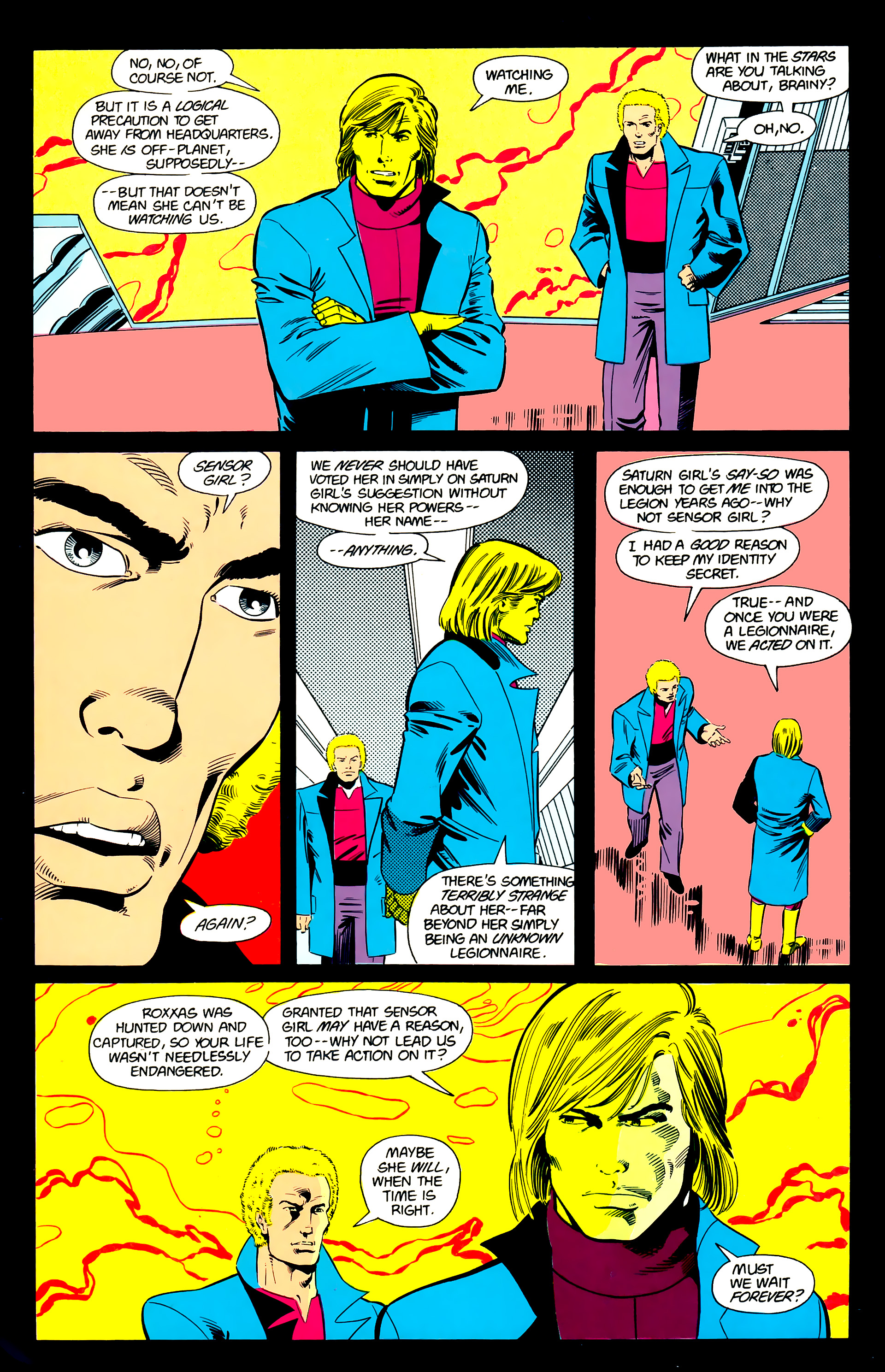 Legion of Super-Heroes (1984) 21 Page 3