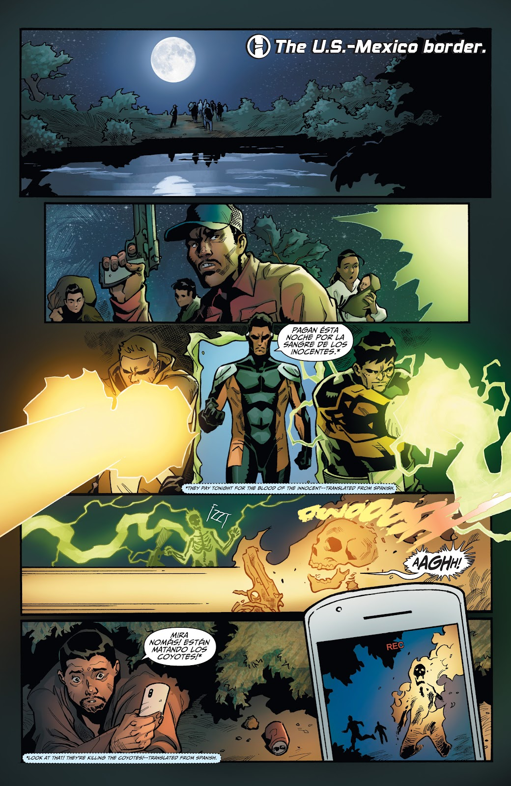 Read online Incidentals comic -  Issue #16 - 23