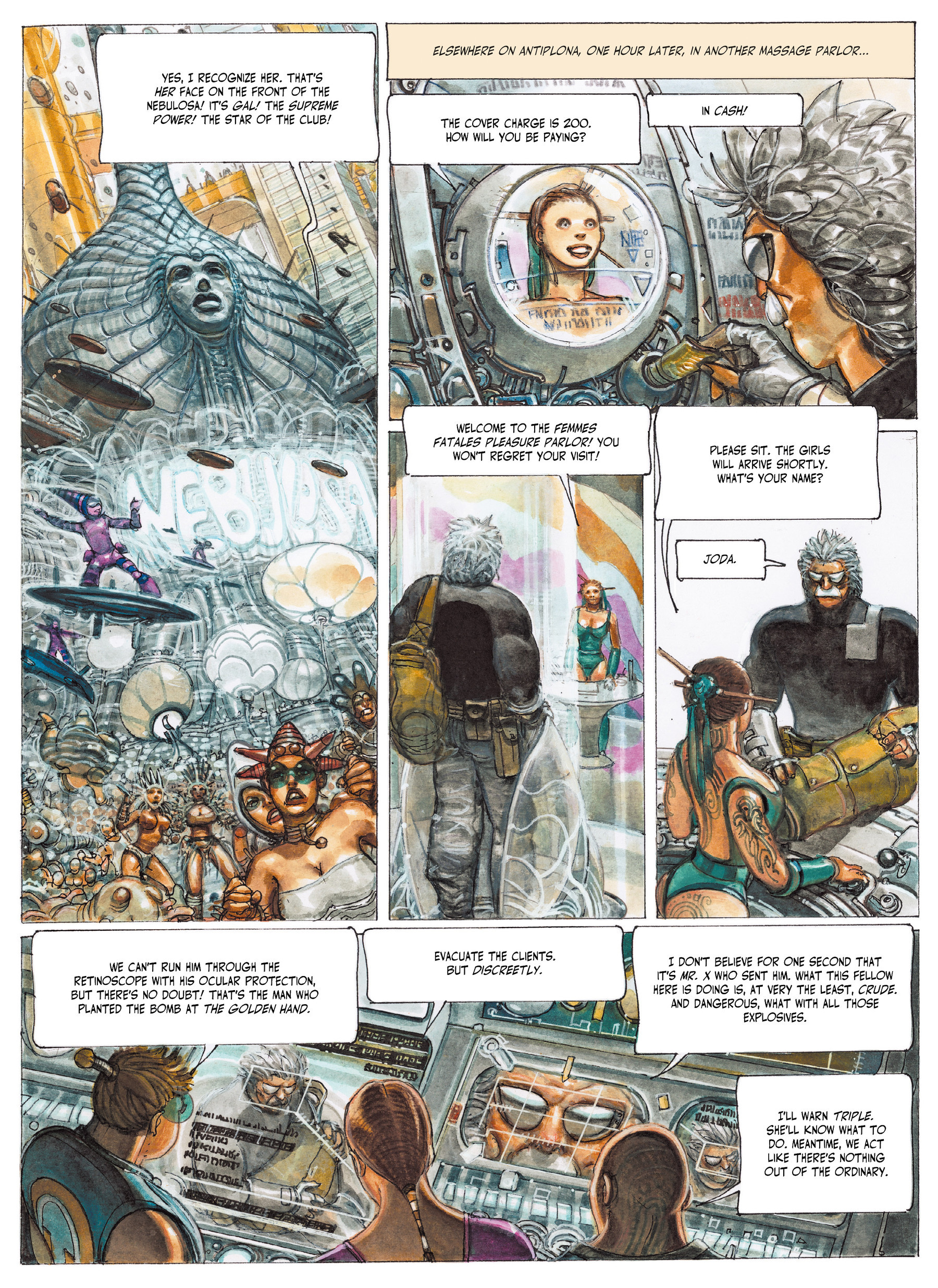 Read online The Fourth Power comic -  Issue #2 - 9