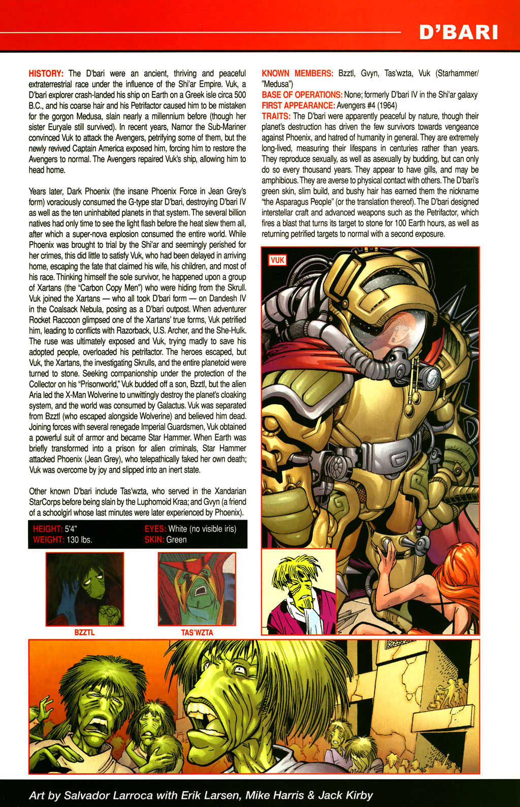 Read online All-New Official Handbook of the Marvel Universe A to Z comic -  Issue #3 - 25