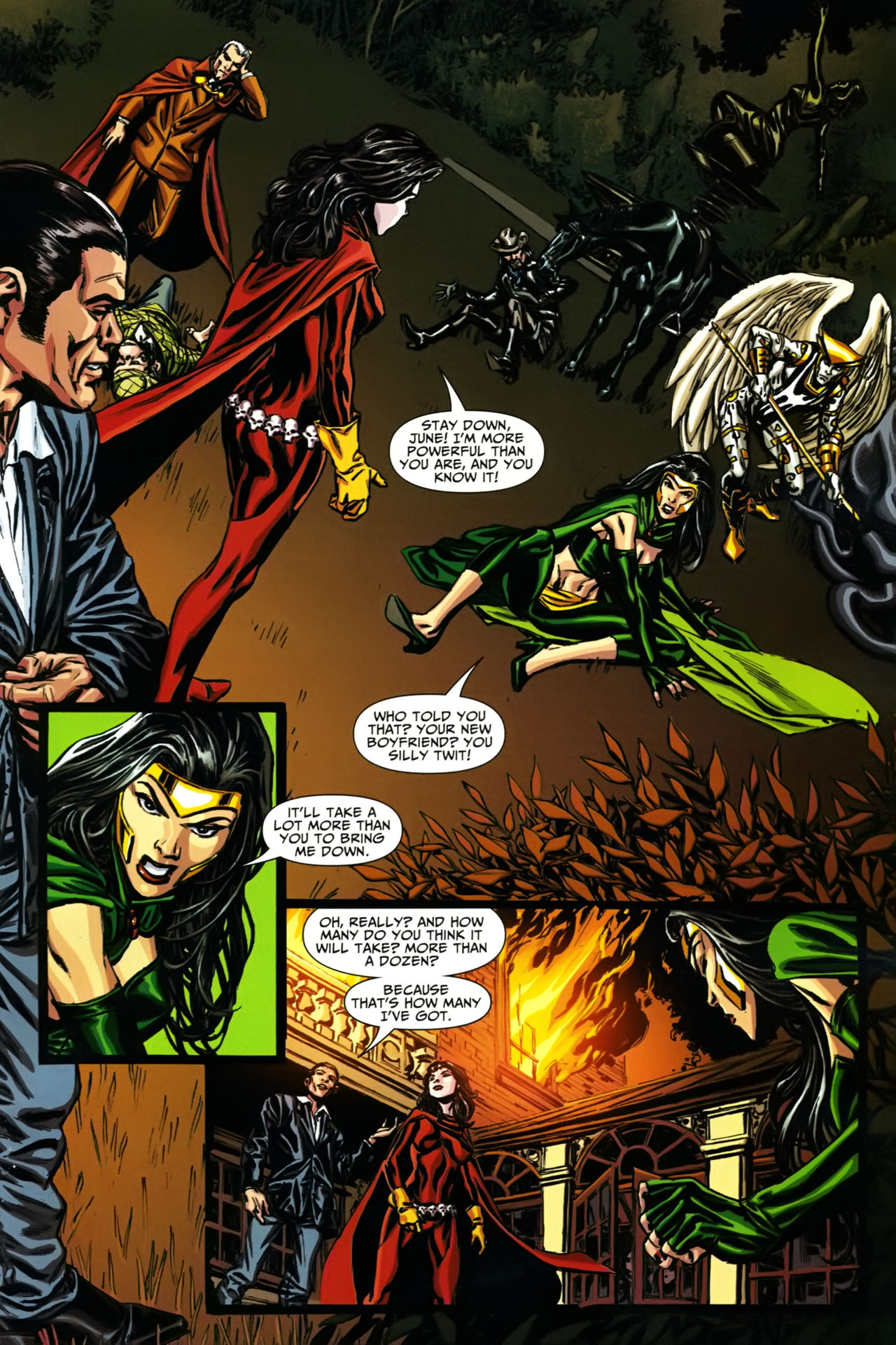 Read online Shadowpact comic -  Issue #19 - 15
